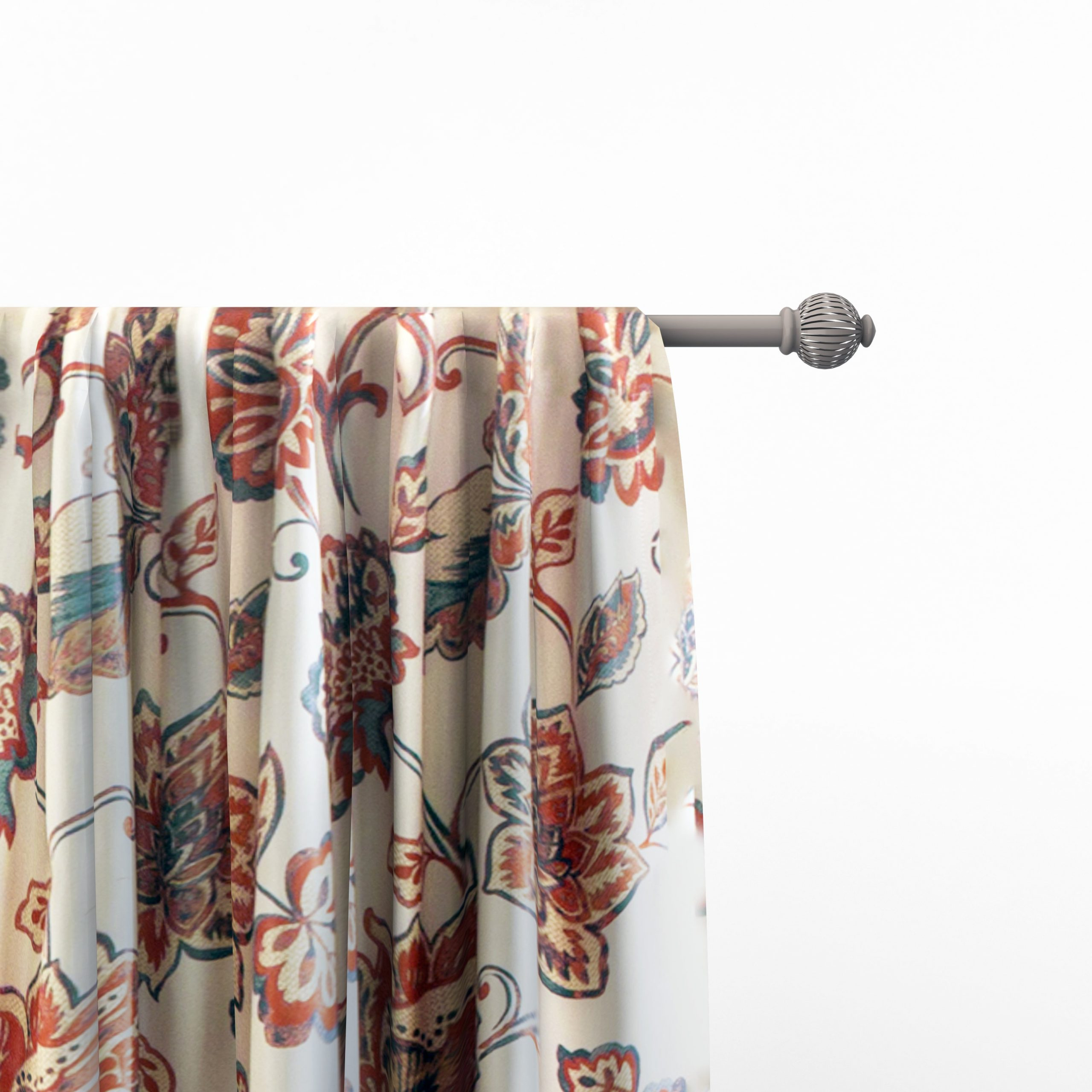 The Curated Nomad Conchita Floral Curtain Panel Pair In 2020 Gray Barn Dogwood Floral Curtain Panel Pairs (View 5 of 20)