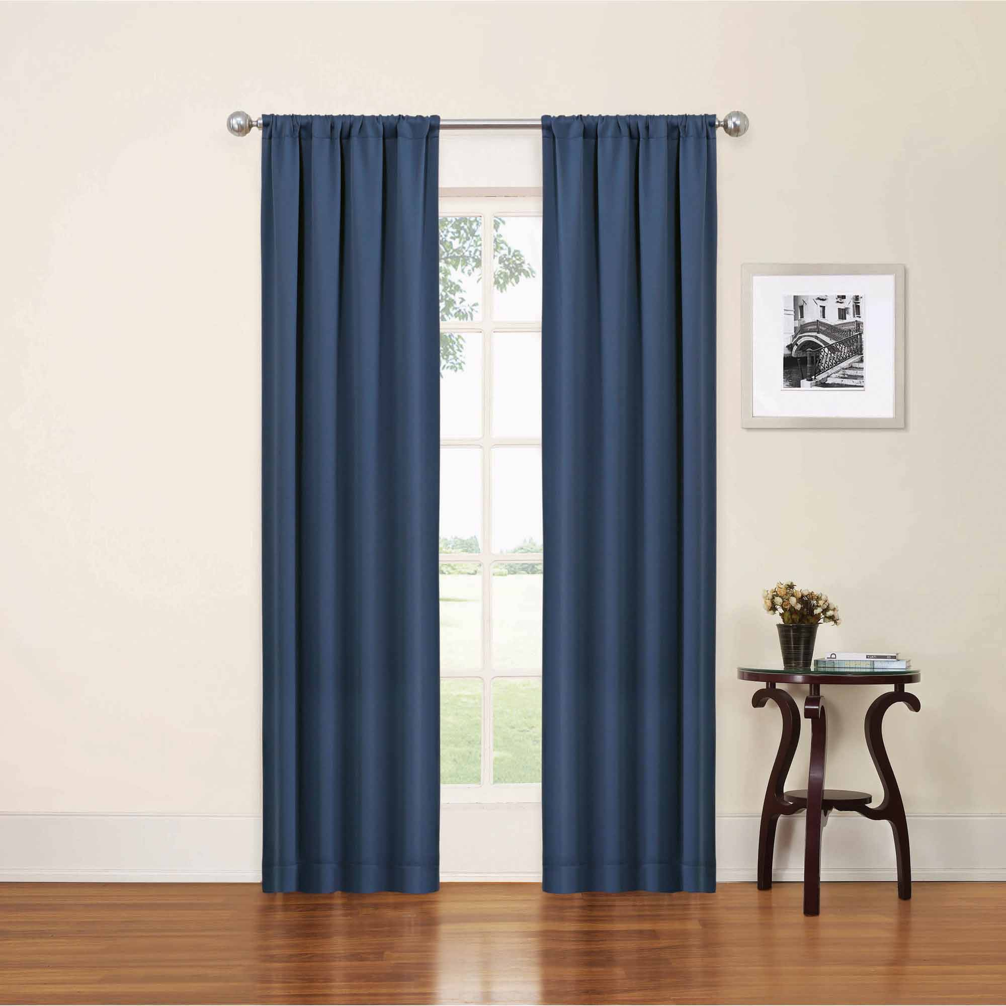 Thermaback Blackout Window Curtains Intended For Favorite Eclipse Phoenix Blackout Window Curtain Panel Pair (View 16 of 20)