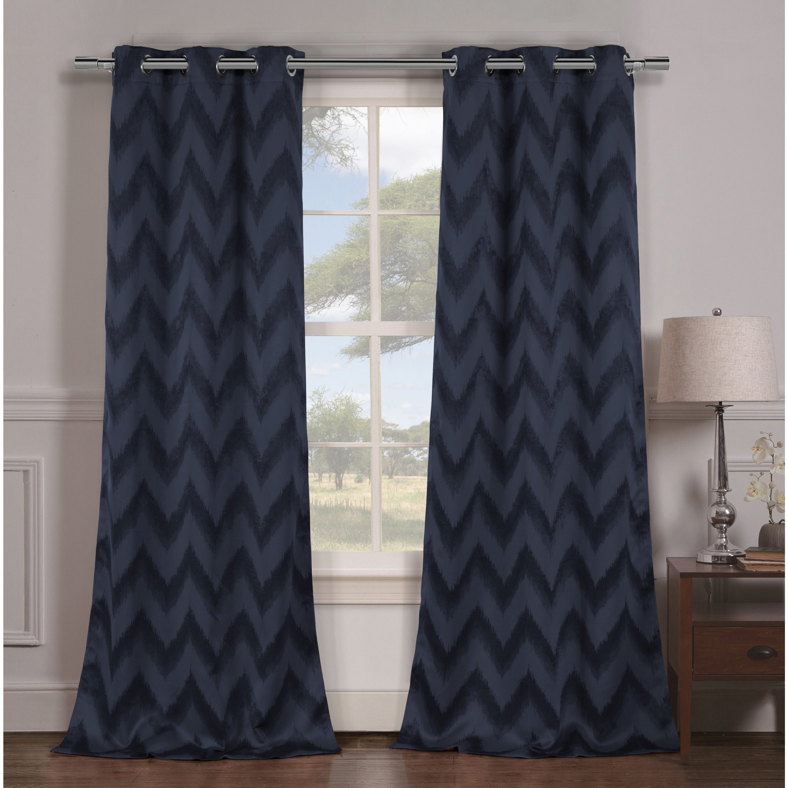 Thermal Insulated Blackout Curtain Panel Pairs Inside Fashionable Detalles Acerca De Duck River Lysanna Grommet Top Thermal Insulated  Blackout Curtain Panel Pair – (View 15 of 20)