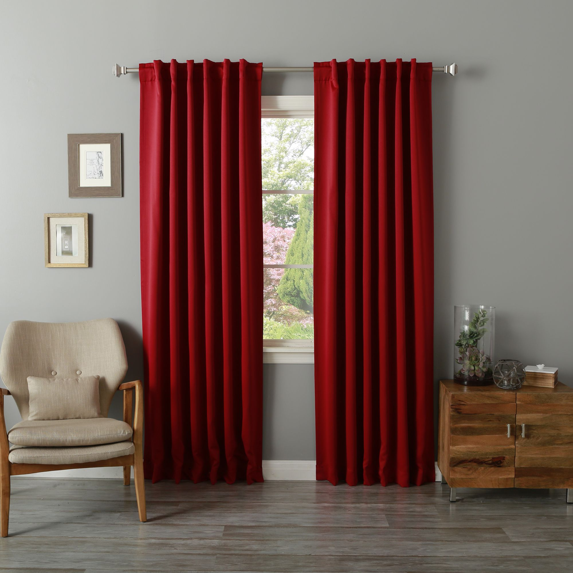 Thermal Rod Pocket Blackout Curtain Panel Pairs With Regard To Most Recently Released Aurora Home Thermal Rod Pocket 96 Inch Blackout Curtain (View 15 of 20)