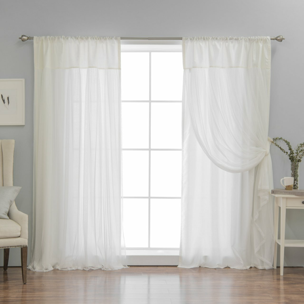 Thermal Sheer Curtains – Overthedoororganizer (View 19 of 20)