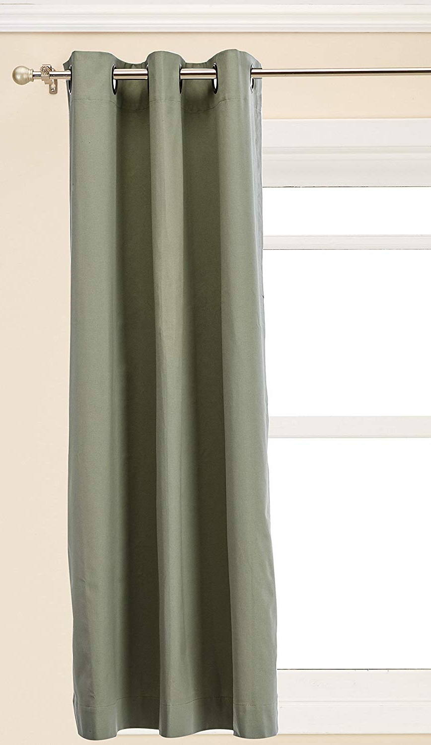 Thermalogic Insulated Cotton Panels Pair, 8054 Inch, Sage For Best And Newest Insulated Cotton Curtain Panel Pairs (View 4 of 20)