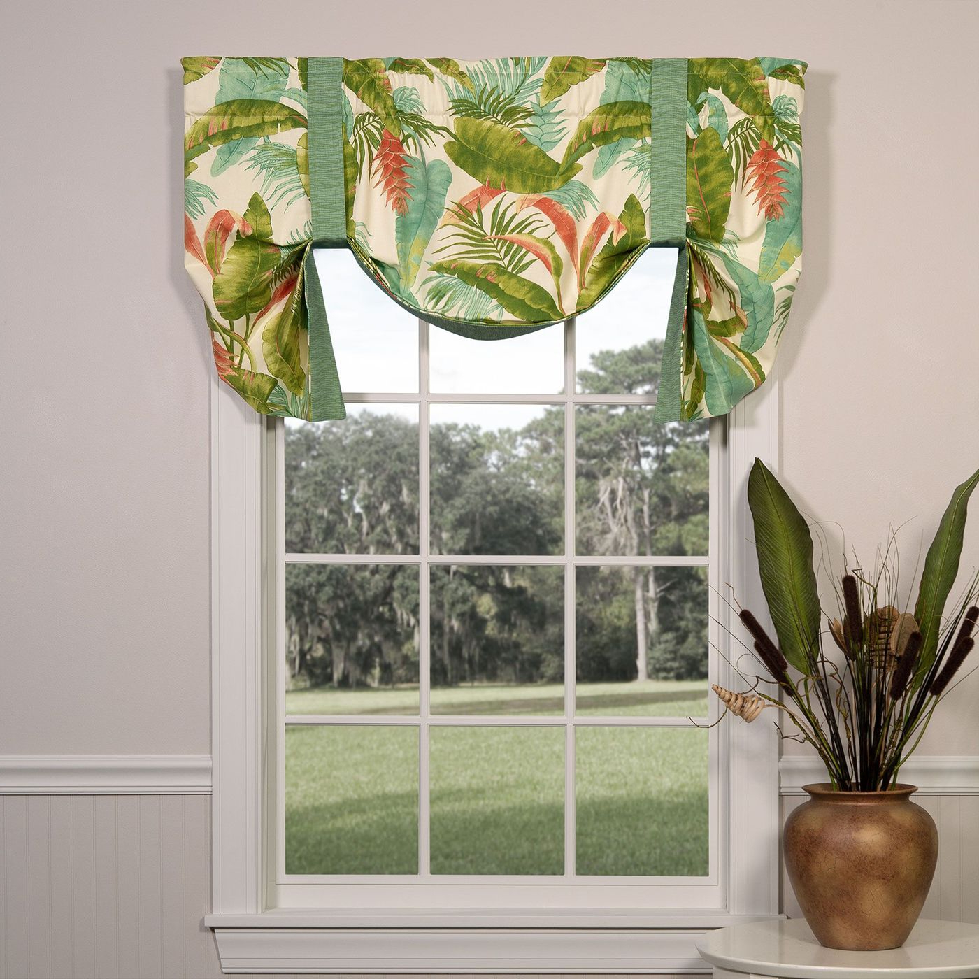 Tie Up Valances: Solid Colored, Patterned, Prints In Latest Prescott Insulated Tie Up Window Shade (View 16 of 20)