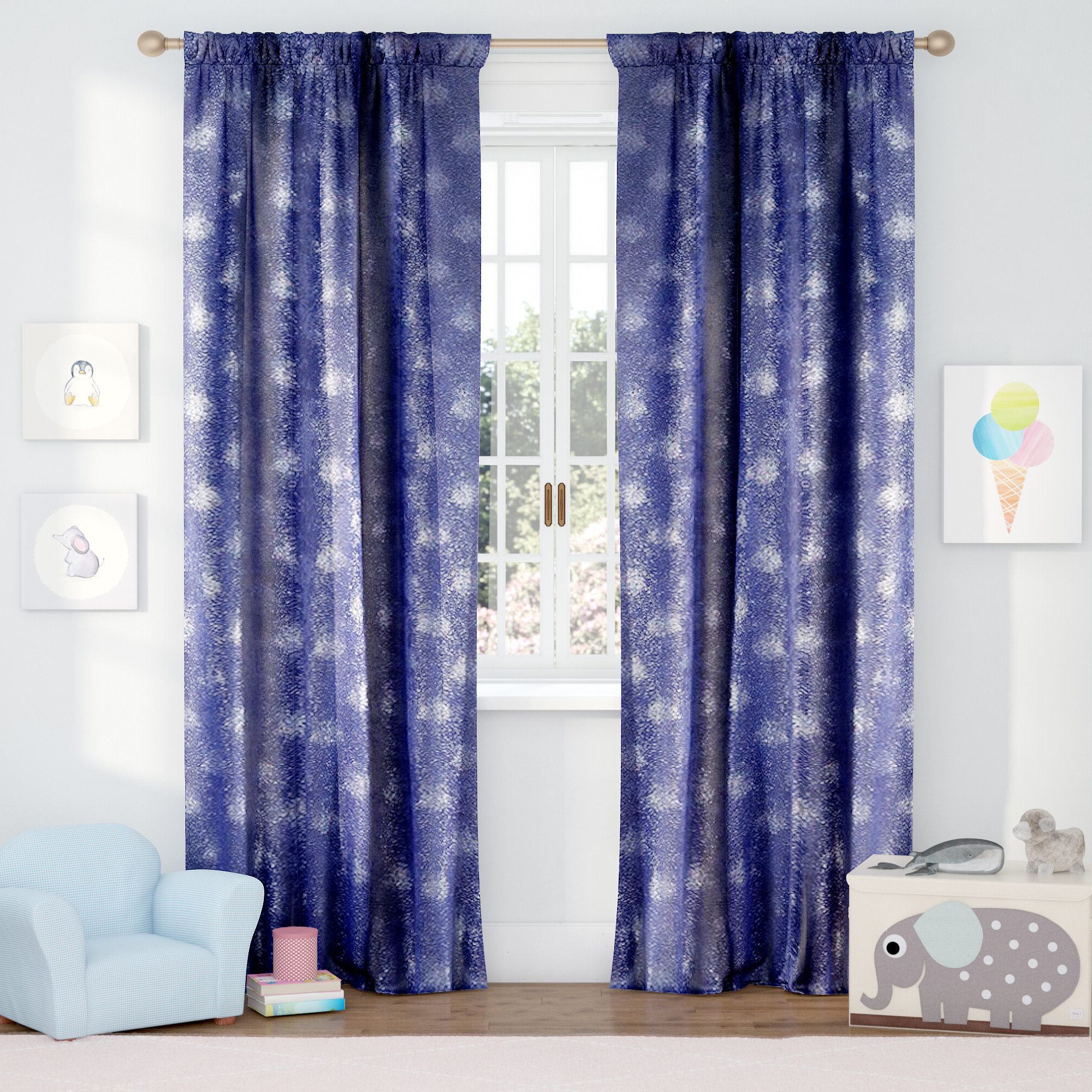 Trendy Abstract Blackout Curtain Panel Pairs Regarding Evangeline Abstract Blackout Rod Pocket Curtain Panels (View 19 of 20)