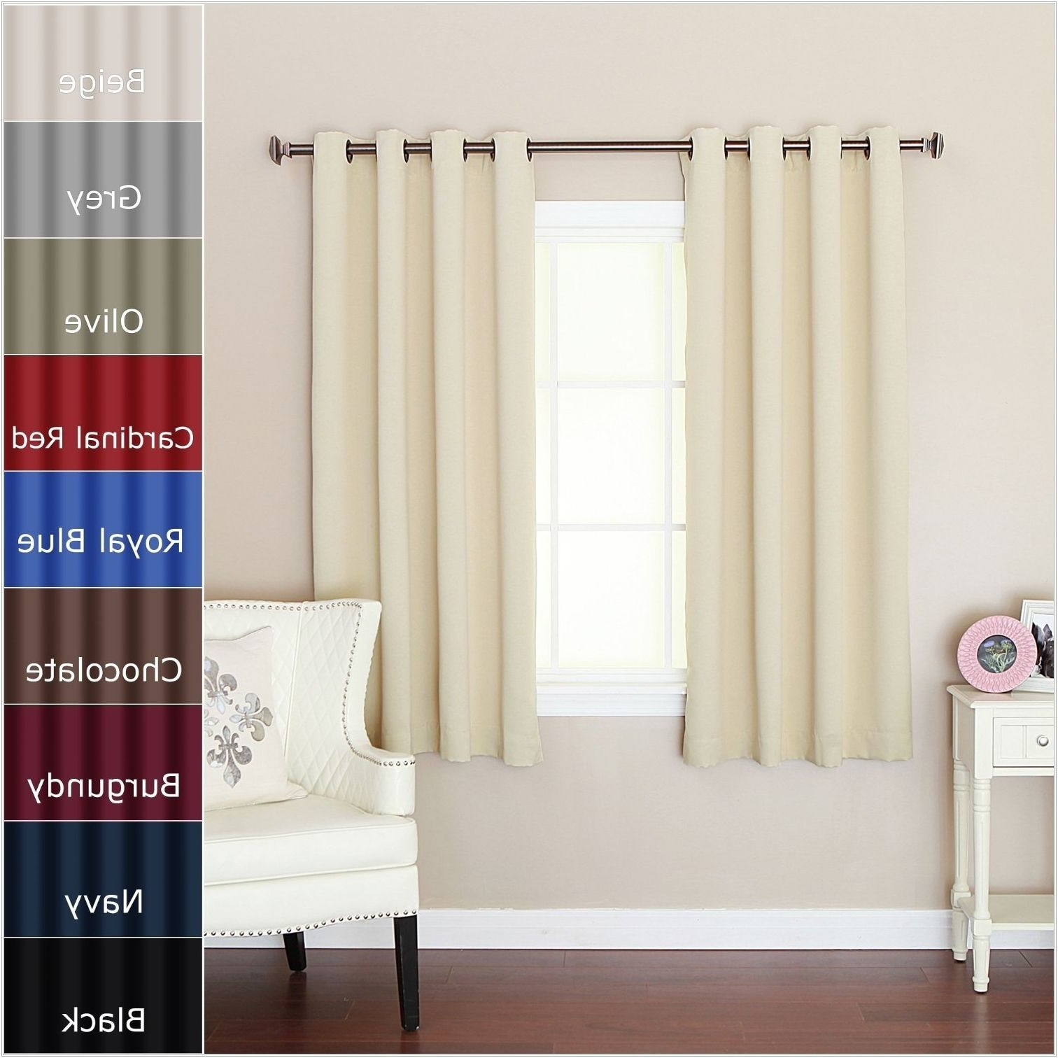 Trendy Blackout Curtains For Short Wide Windows (View 18 of 20)