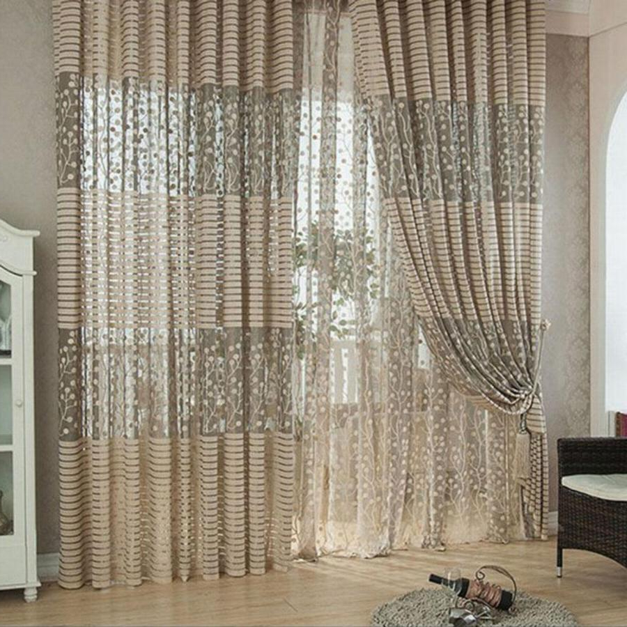 Trendy Curtain ~ No Emily Sheer Voile Single Solid Colored Patio With Regard To Emily Sheer Voile Single Curtain Panels (View 20 of 20)