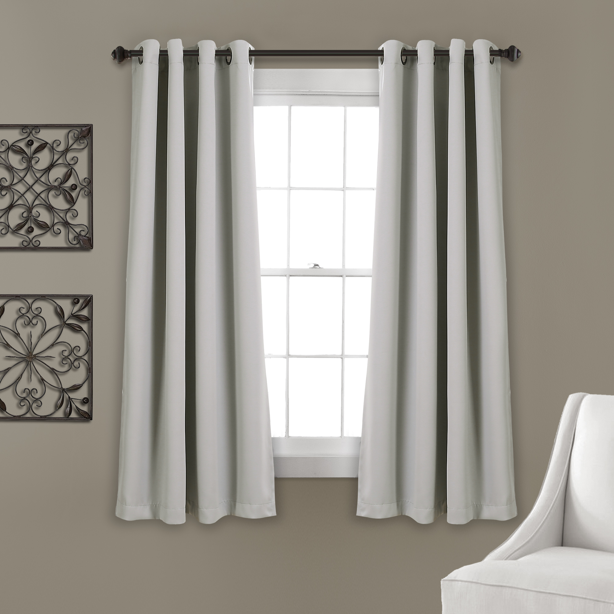 Trendy Insulated Grommet Blackout Curtain Panel Pairs Pertaining To Details About Lush Dcor Insulated Grommet Blackout Curtain Panels Pink Pair Set 52X (View 20 of 20)