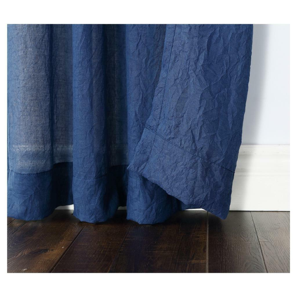 Trendy Ladonna Rod Pocket Solid Semi Sheer Window Curtain Panels In No (View 18 of 20)