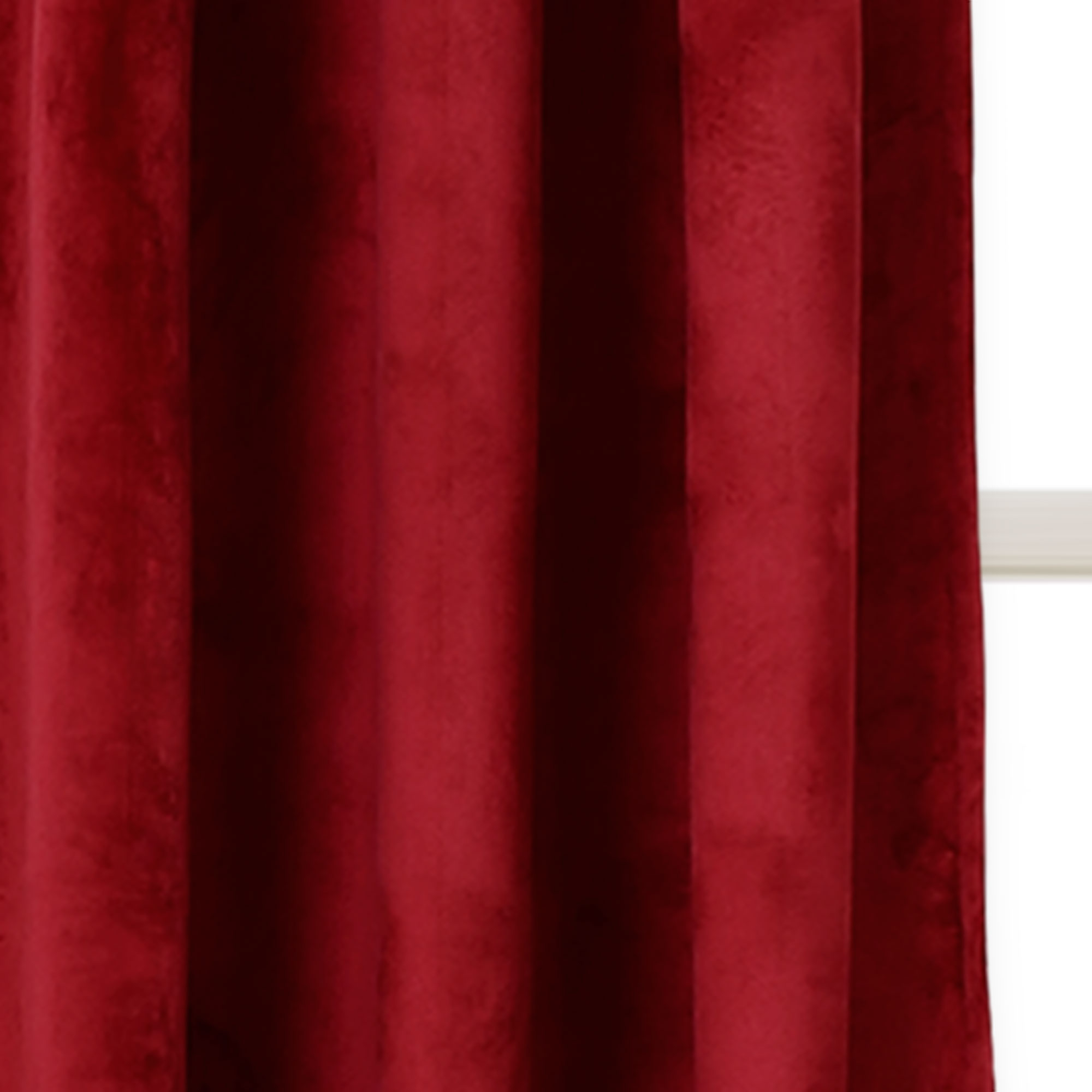 Trendy Velvet Solid Room Darkening Window Curtain Panel Sets With Regard To Details About Prima Velvet Solid Room Darkening Window Curtain Plum Set 38x (View 18 of 20)
