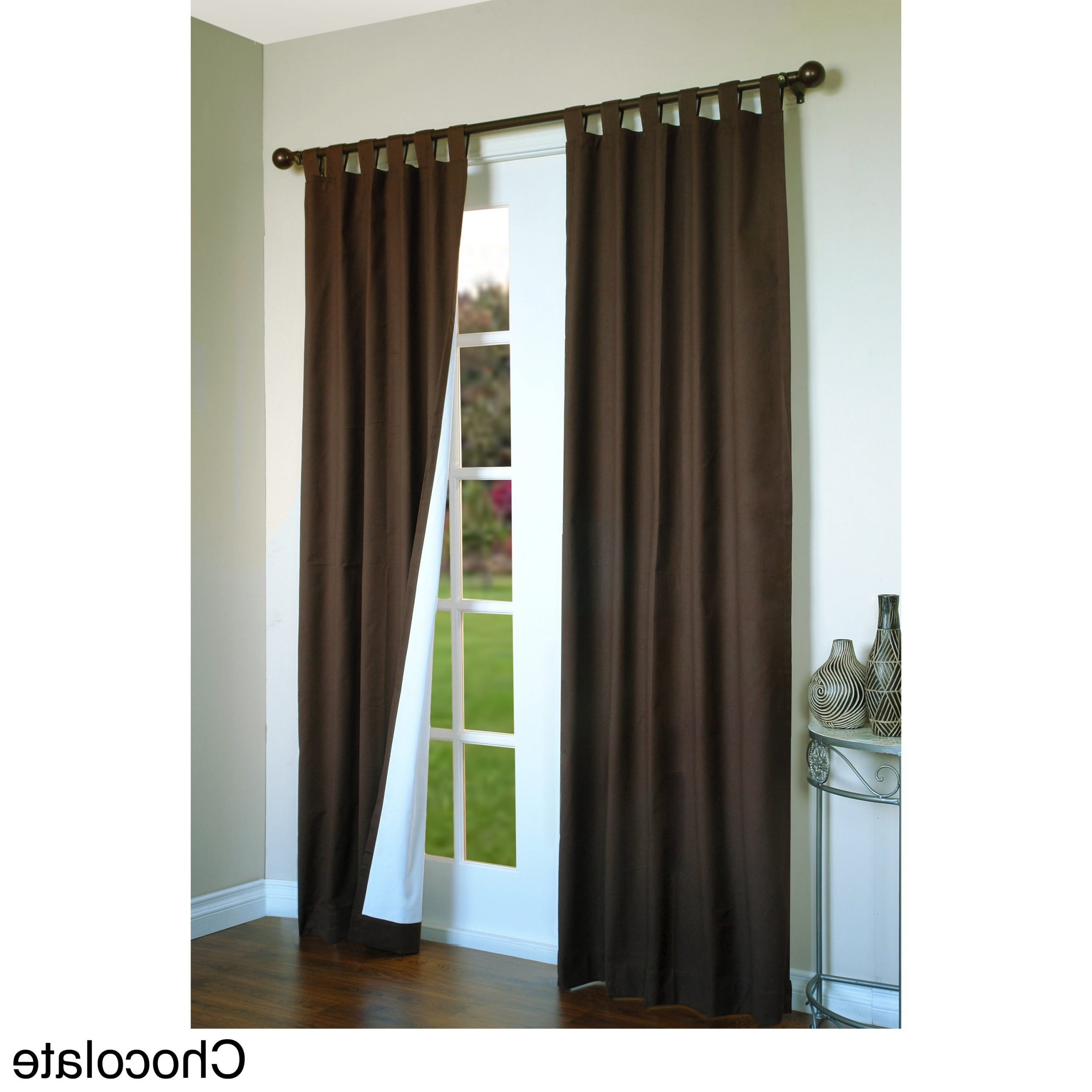 Trendy Weathermate Insulated Cotton Curtain Panel Pair Pertaining To Insulated Cotton Curtain Panel Pairs (View 2 of 20)