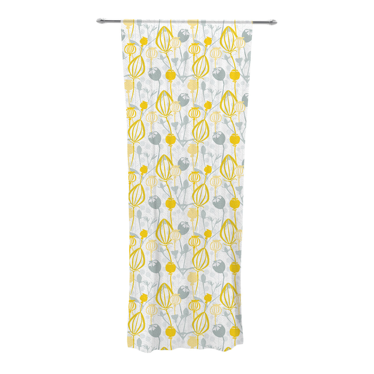 Trendy Willow Rod Pocket Window Curtain Panels Pertaining To Willow Wisp Nature / Floral Sheer Rod Pocket Curtain Panels (View 13 of 20)