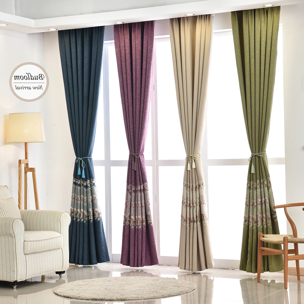 [%us $16.0 20% Off| European Solid Faux Linen Blackout Curtains For Living Room 4 Colors Embroidered Window Drapes For Bedroom In Curtains From Home & Pertaining To Popular Faux Linen Blackout Curtains|faux Linen Blackout Curtains Inside Famous Us $16.0 20% Off| European Solid Faux Linen Blackout Curtains For Living Room 4 Colors Embroidered Window Drapes For Bedroom In Curtains From Home &|most Current Faux Linen Blackout Curtains Regarding Us $16.0 20% Off| European Solid Faux Linen Blackout Curtains For Living Room 4 Colors Embroidered Window Drapes For Bedroom In Curtains From Home &|well Known Us $ (View 19 of 20)