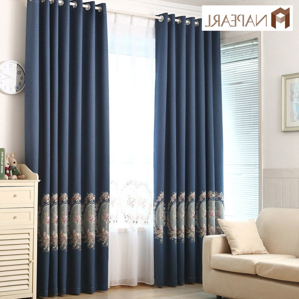 [%us $7.88 61% Off|napearl Blackout Curtains Faux Linen Embroidered Luxury Curtain Navy Blue Green Purple Floral Living Room Window Curtain Modern In In Fashionable Faux Linen Blackout Curtains|faux Linen Blackout Curtains Within Well Known Us $7.88 61% Off|napearl Blackout Curtains Faux Linen Embroidered Luxury Curtain Navy Blue Green Purple Floral Living Room Window Curtain Modern In|most Current Faux Linen Blackout Curtains With Us $7.88 61% Off|napearl Blackout Curtains Faux Linen Embroidered Luxury Curtain Navy Blue Green Purple Floral Living Room Window Curtain Modern In|most Up To Date Us $ (View 17 of 20)