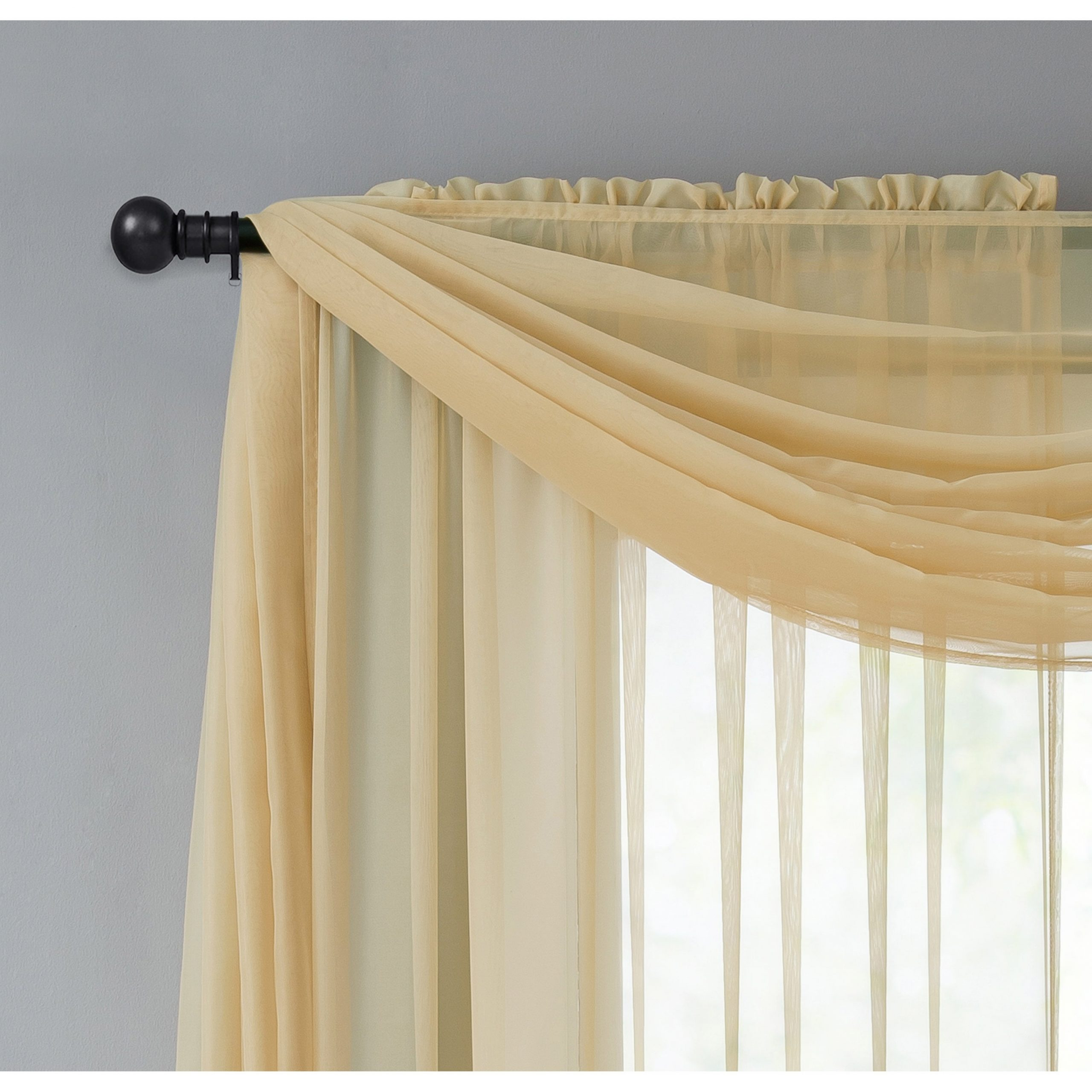 Vcny Infinity Sheer Rod Pocket Curtain Panel Throughout Preferred Infinity Sheer Rod Pocket Curtain Panels (View 11 of 20)