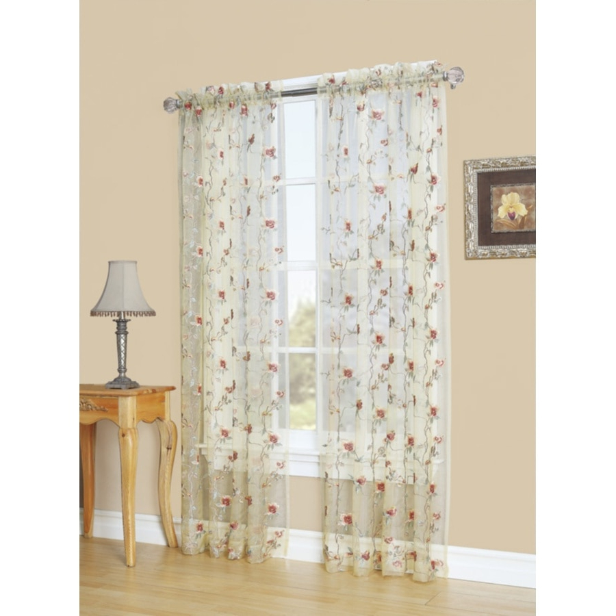 Velvet Dream Silver Curtain Panel Pairs Inside Most Recently Released Curtains & Drapes At Lowes (View 17 of 20)