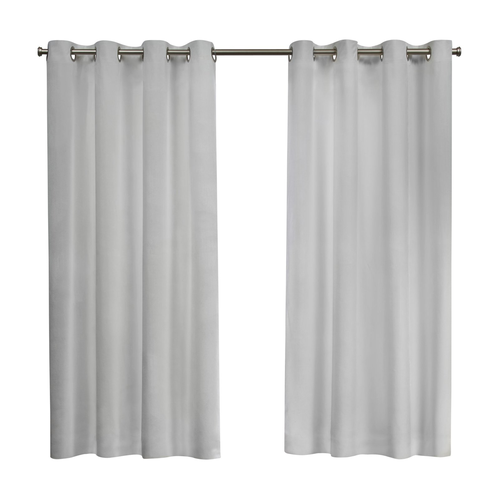 Velvet Heavyweight Grommet Top Curtain Panel Pairs Pertaining To Best And Newest Exclusive Home Curtains 2 Pack Velvet Heavyweight Grommet Top Curtain Panels (View 6 of 20)