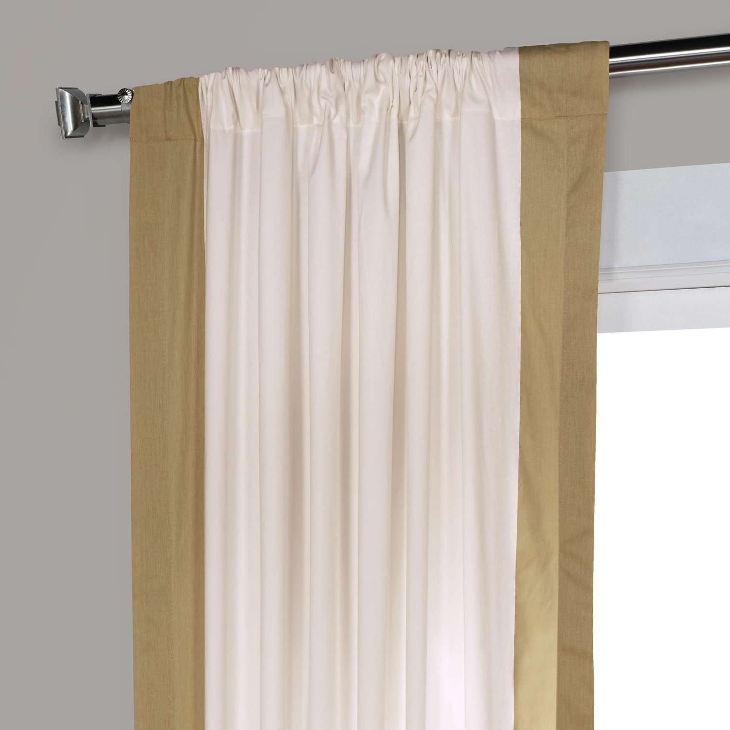 Vertical Colorblock Panama Curtains Pertaining To Most Popular Exclusive Fabrics Vertical Colorblock Panama Curtain (View 7 of 20)