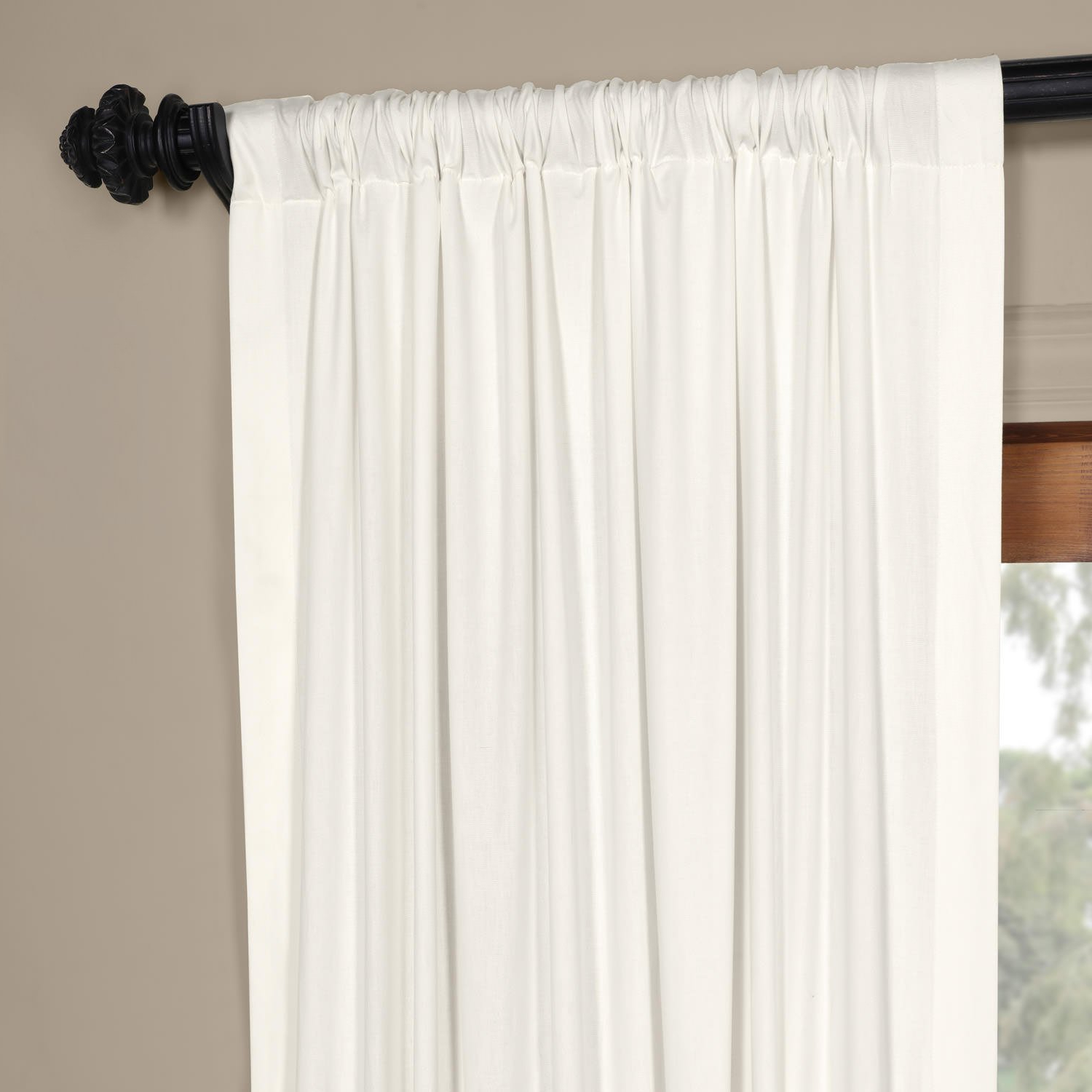 Vertical Colorblock Panama Curtains Throughout 2021 Amazon: Half Price Drapes Prct Hc1712 96 Horizontal (View 18 of 20)