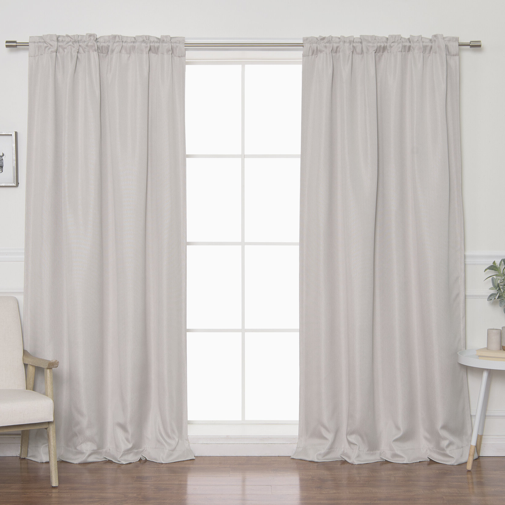 Featured Photo of Faux Linen Blackout Curtains