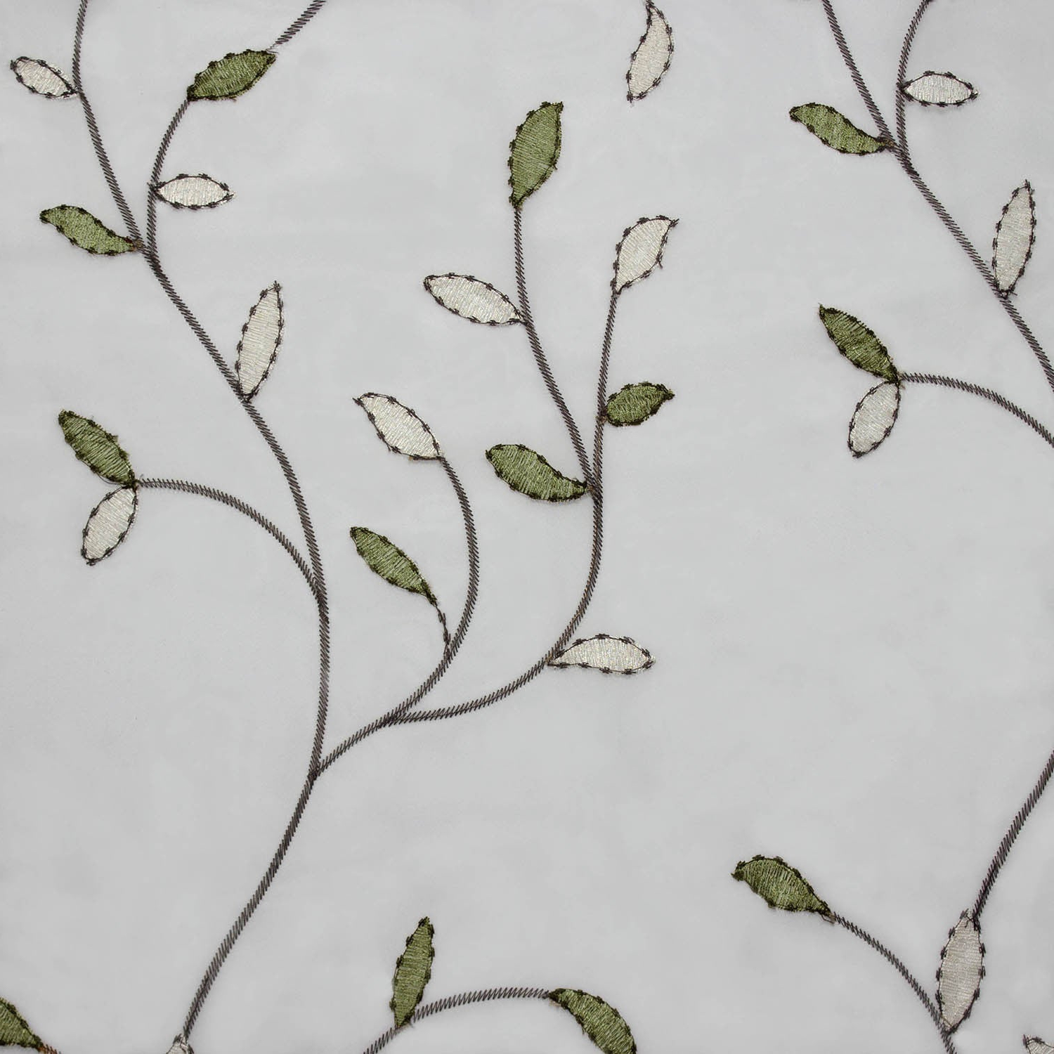 Wavy Leaves Embroidered Sheer Extra Wide 84 Inch Grommet Curtain Panel – 54  X 84 For Well Known Wavy Leaves Embroidered Sheer Extra Wide Grommet Curtain Panels (View 9 of 20)