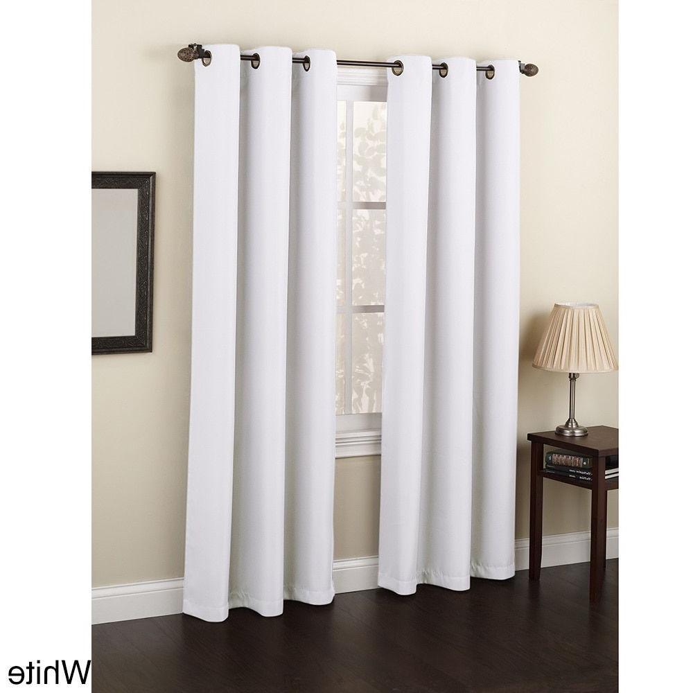 Well Known Copper Grove Speedwell Grommet Window Curtain Panels Regarding Laurel Creek Blanche Grommet Window Curtain Panel (63 Inches (View 20 of 20)