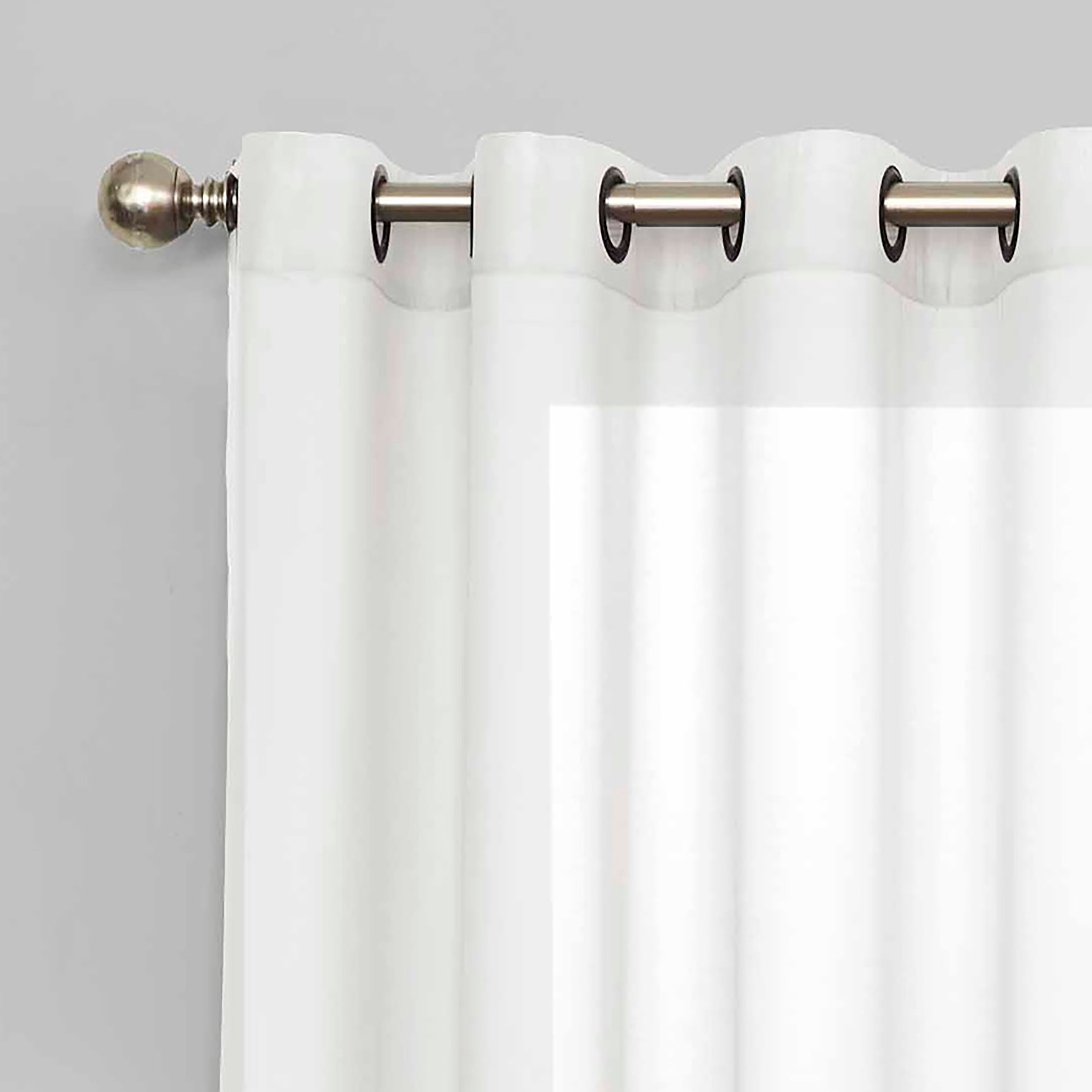 Well Known Eclipse Liberty Light Filtering Sheer Single Curtain Panel With Regard To Light Filtering Sheer Single Curtain Panels (View 8 of 20)