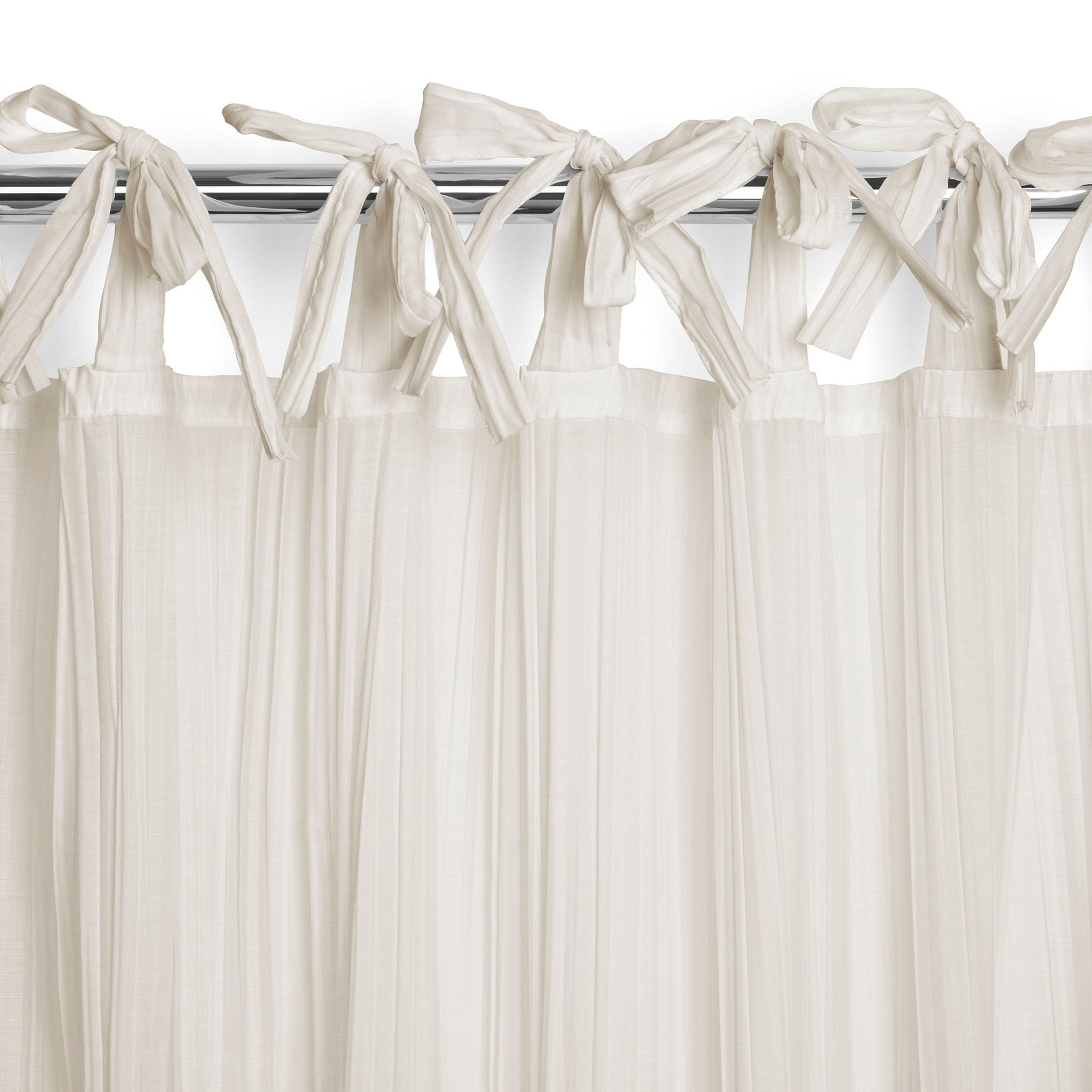 Well Known Elrene Jolie Tie Top Curtain Panel In Elrene Jolie Tie Top Curtain Panels (View 4 of 20)