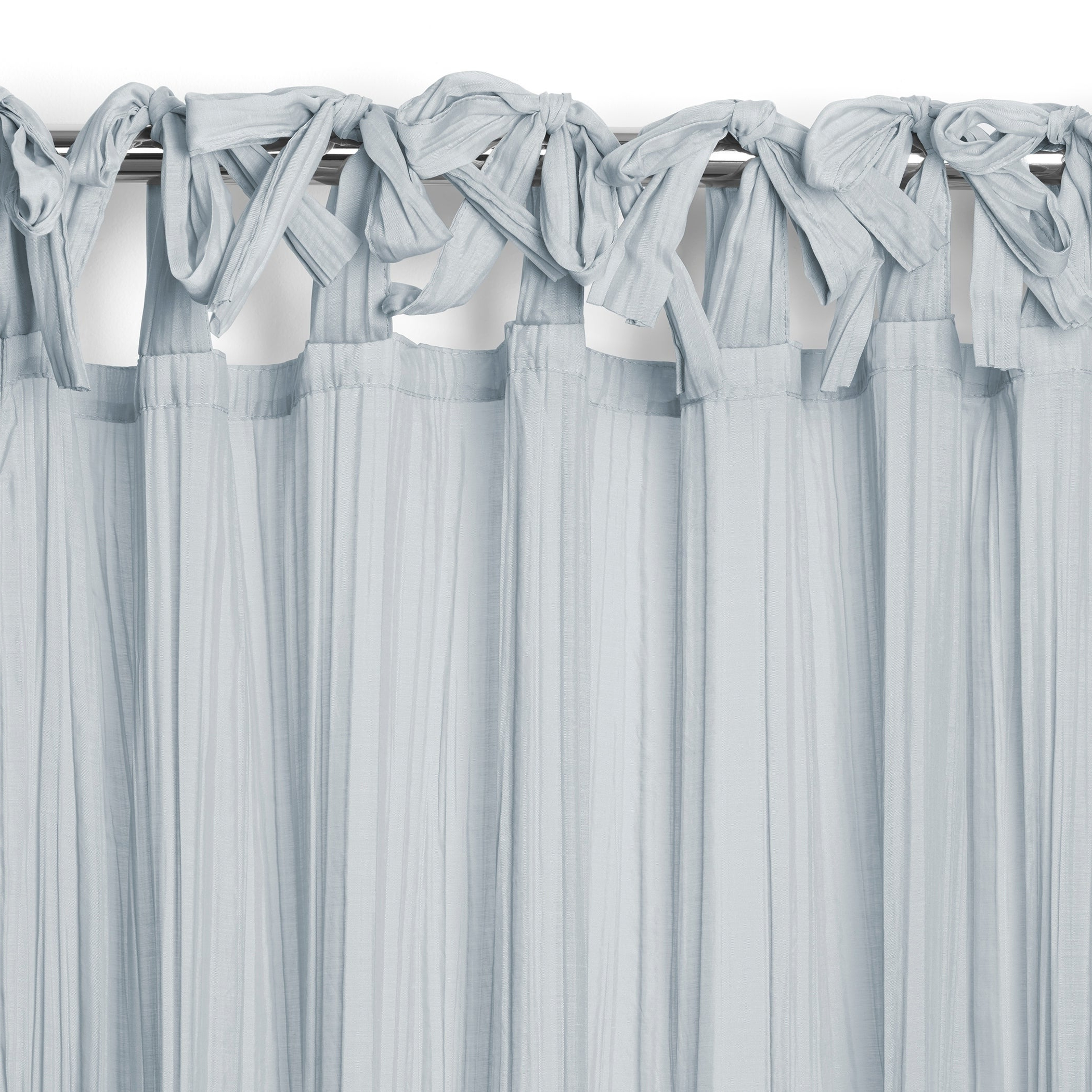 Well Known Elrene Jolie Tie Top Curtain Panel Within Elrene Jolie Tie Top Curtain Panels (View 7 of 20)