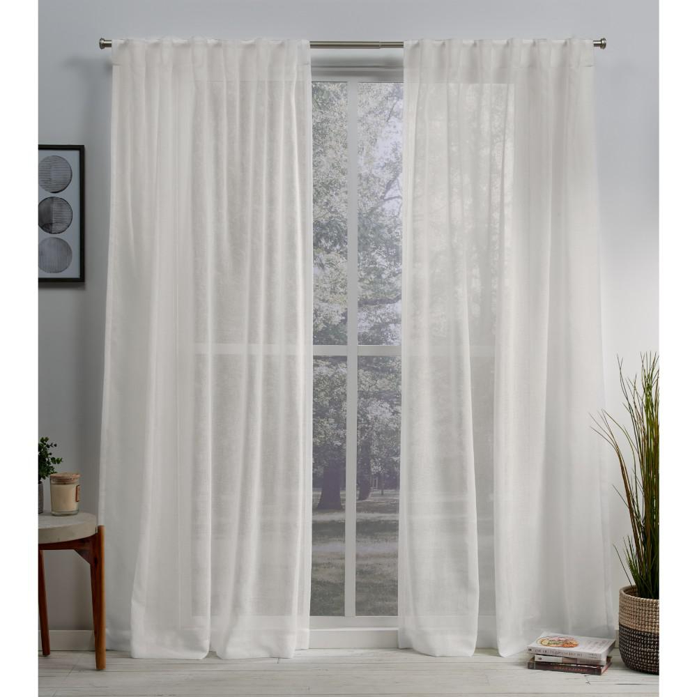 Well Known Exclusive Home Curtains Belgian 50 In. W X 108 In (View 16 of 20)