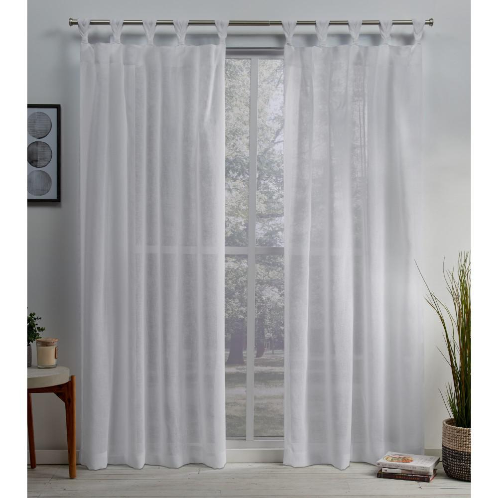 Well Known Exclusive Home Curtains Belgian 50 In. W X 84 In (View 9 of 20)