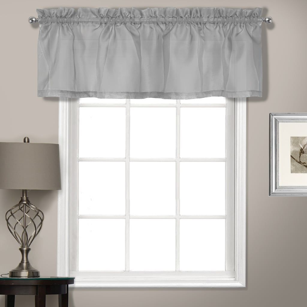 Well Known Luxury Collection Summit Sheer Curtain Panel Pairs Intended For United Curtain Co (View 9 of 20)