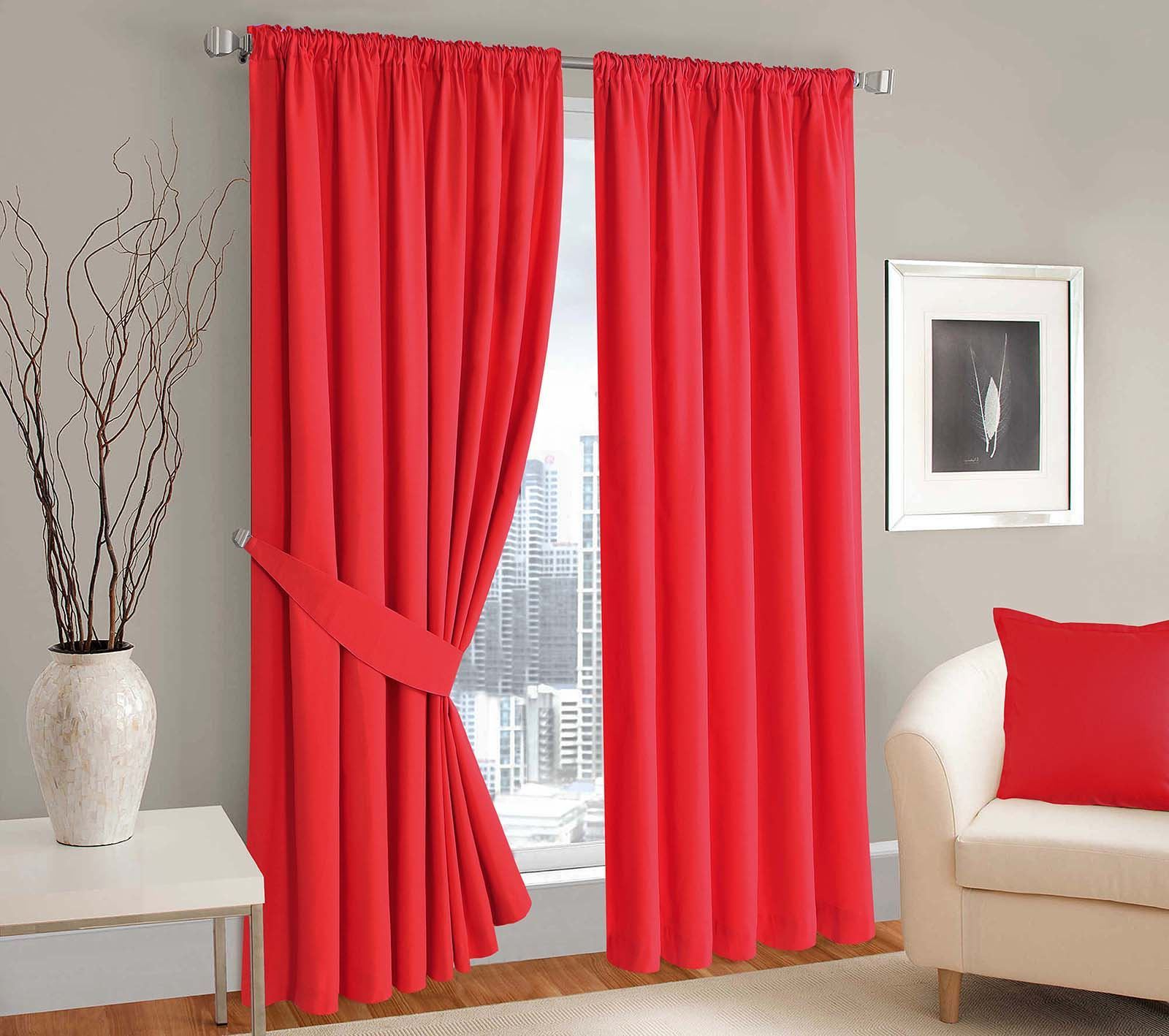 Well Known Luxury Panama Ready Made Pencil Pleated Curtains Pair Solid With Solid Cotton Pleated Curtains (View 18 of 20)
