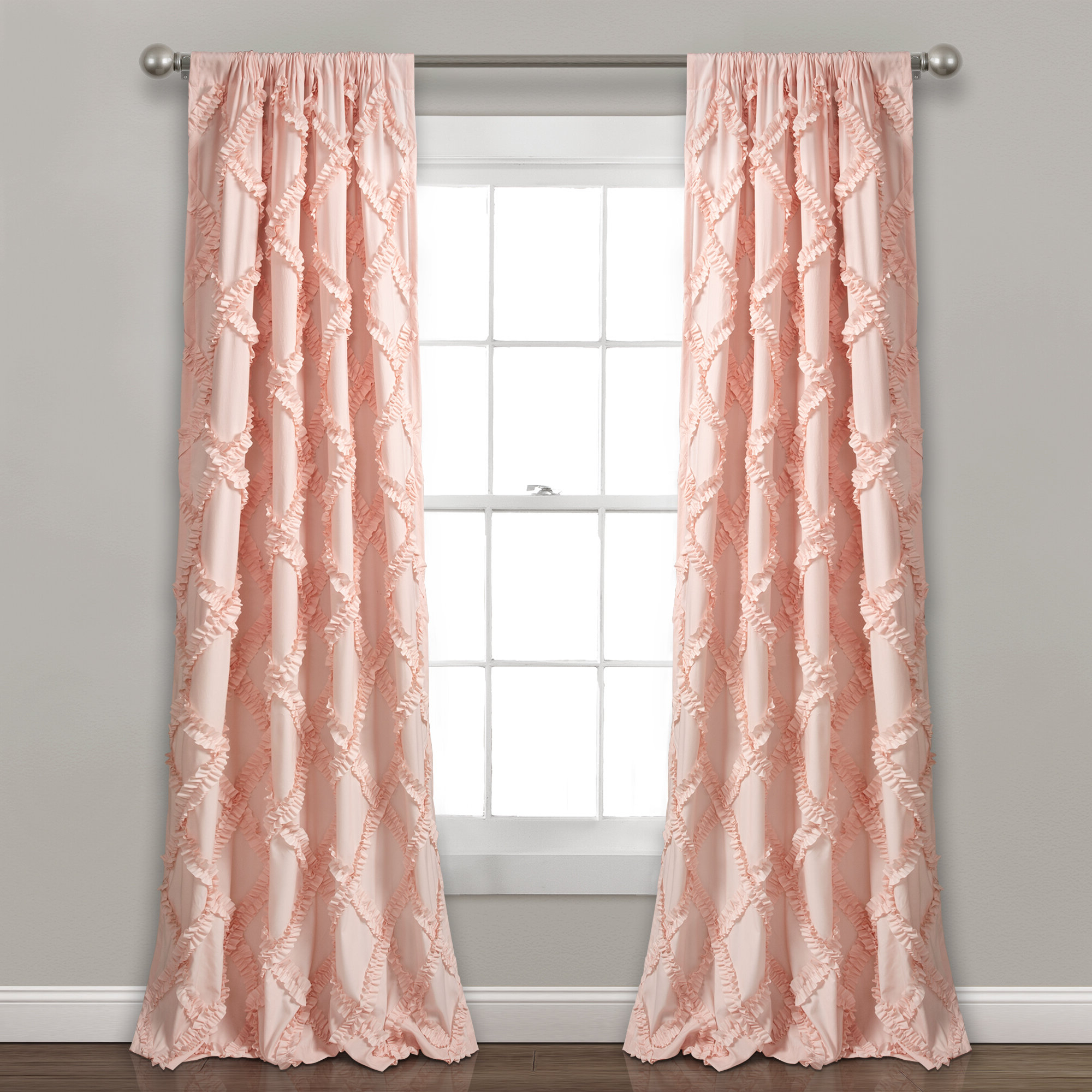 Well Known Ornellas Geometric Rod Pocket Curtain Panels Intended For Rod Pocket Curtain Panels (View 10 of 20)