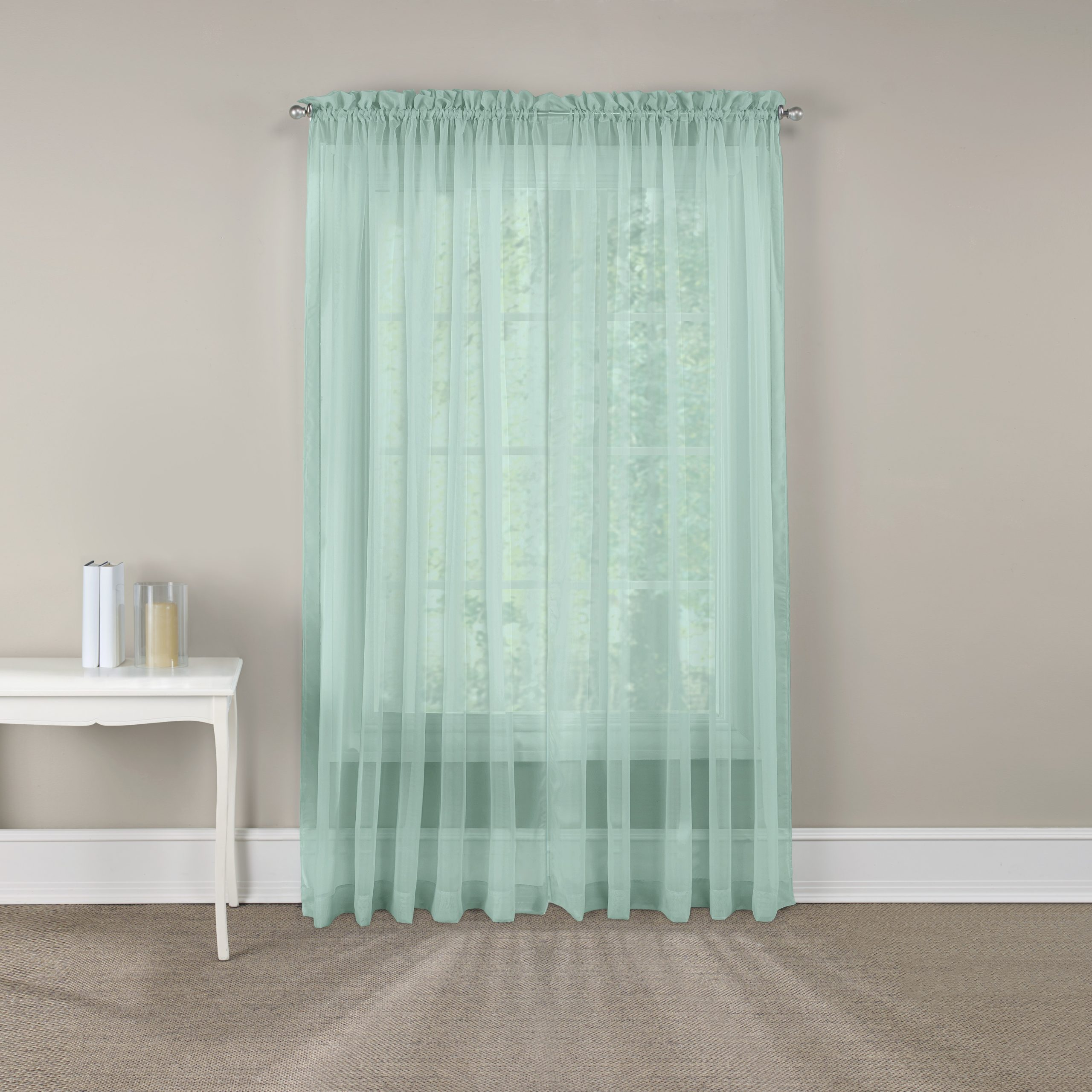 Well Known Pairs To Go™ Victoria Voile Curtain Panel Pair With Regard To Pairs To Go Victoria Voile Curtain Panel Pairs (View 8 of 20)