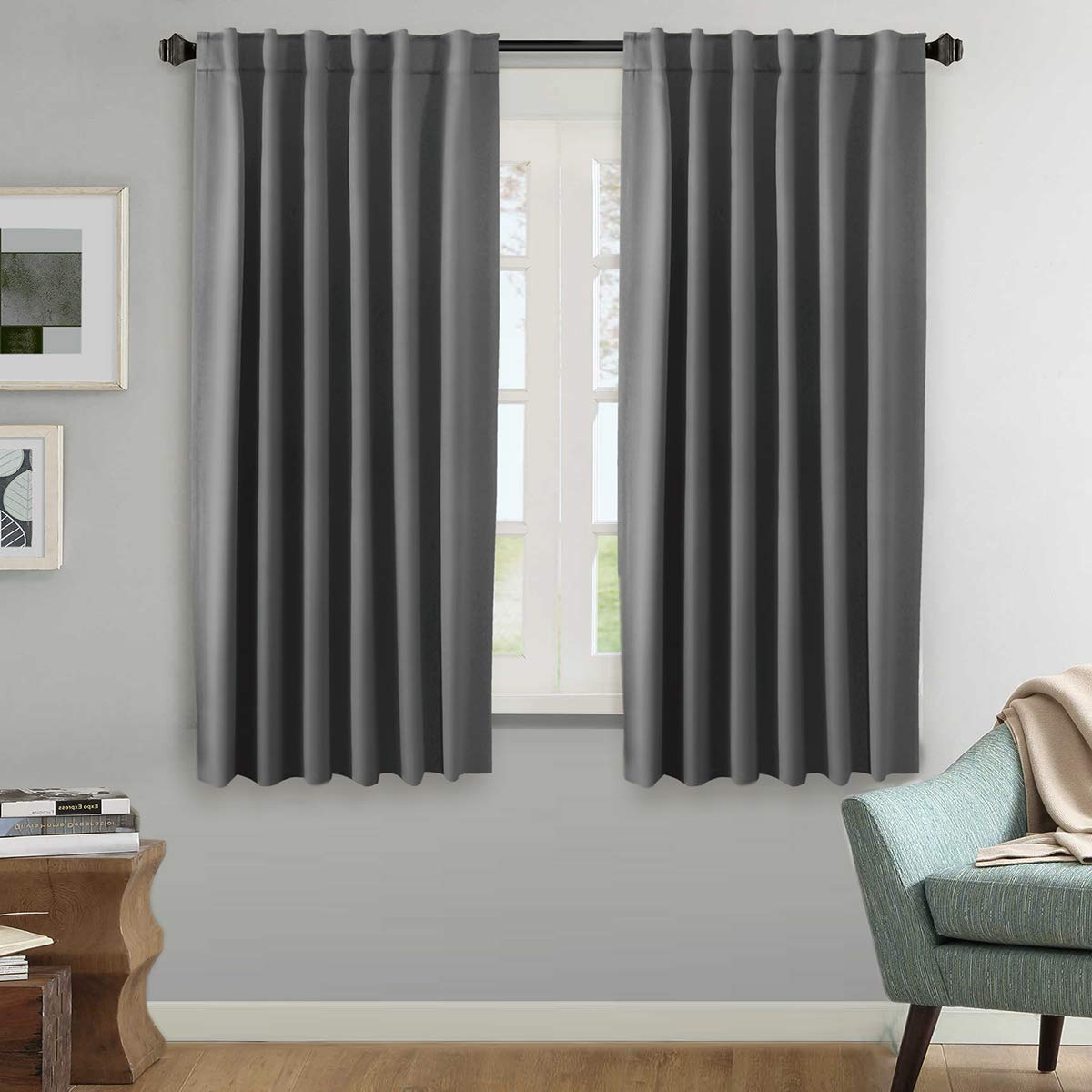 Well Known Thermal Rod Pocket Blackout Curtain Panel Pairs With H (View 18 of 20)
