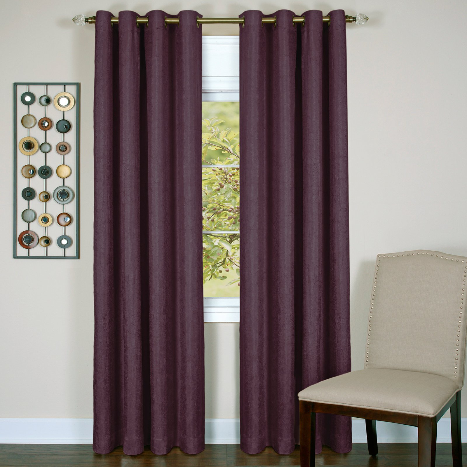 Well Liked Achim Taylor – Lined Grommet Window Curtain Panel Pertaining To Lined Grommet Curtain Panels (View 11 of 20)