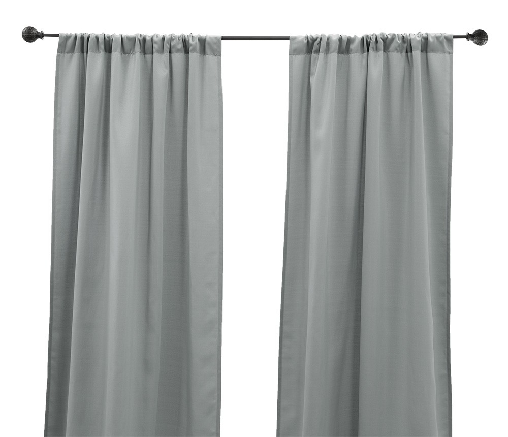 """Well Liked Caldwell Curtain Panel Pairs Inside Panel Pair 84"""" Caldwell – Gray (View 19 of 20)"""