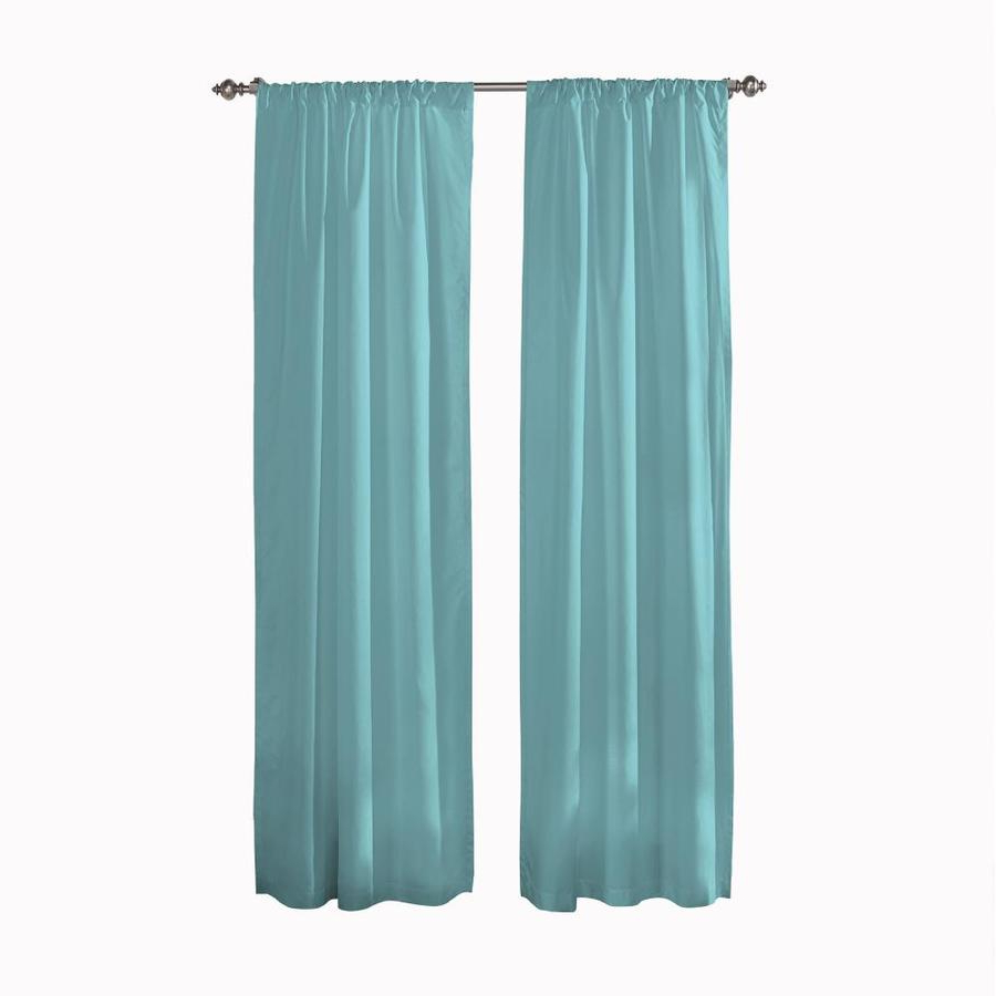 Well Liked Pairs To Go Cadenza 54 In Aegean Polyester Room Darkening Regarding Curtain Panel Pairs (View 16 of 20)