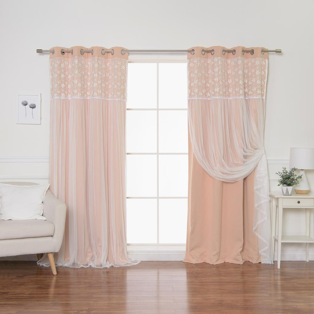 Widely Used Best Home Fashion Indie Pink 84 In (View 15 of 20)