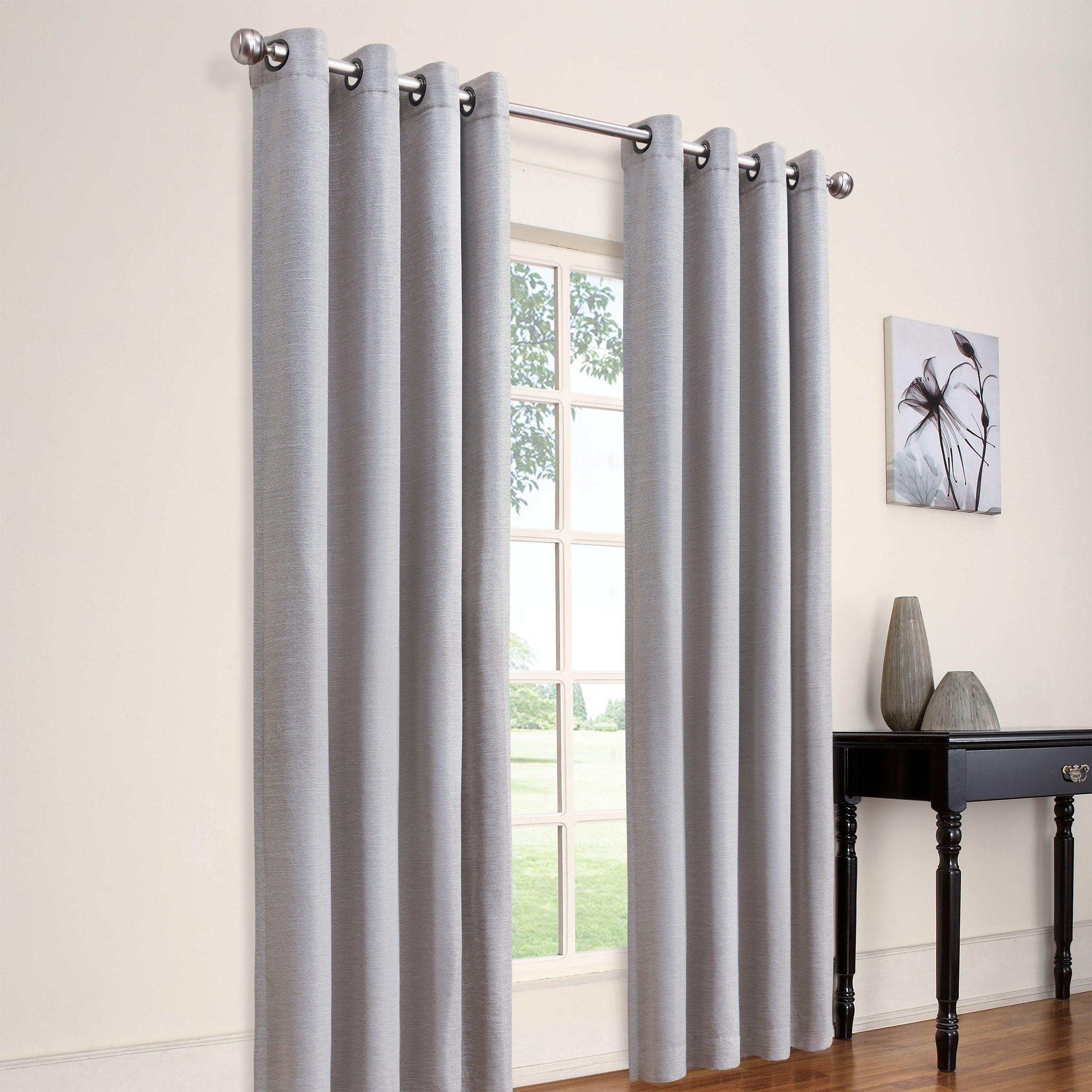 Widely Used Eclipse Caprese Thermalayer Blackout Window Curtains With Regard To Eclipse Luxor Thermalayer Blackout Window Curtain Panel (View 20 of 20)