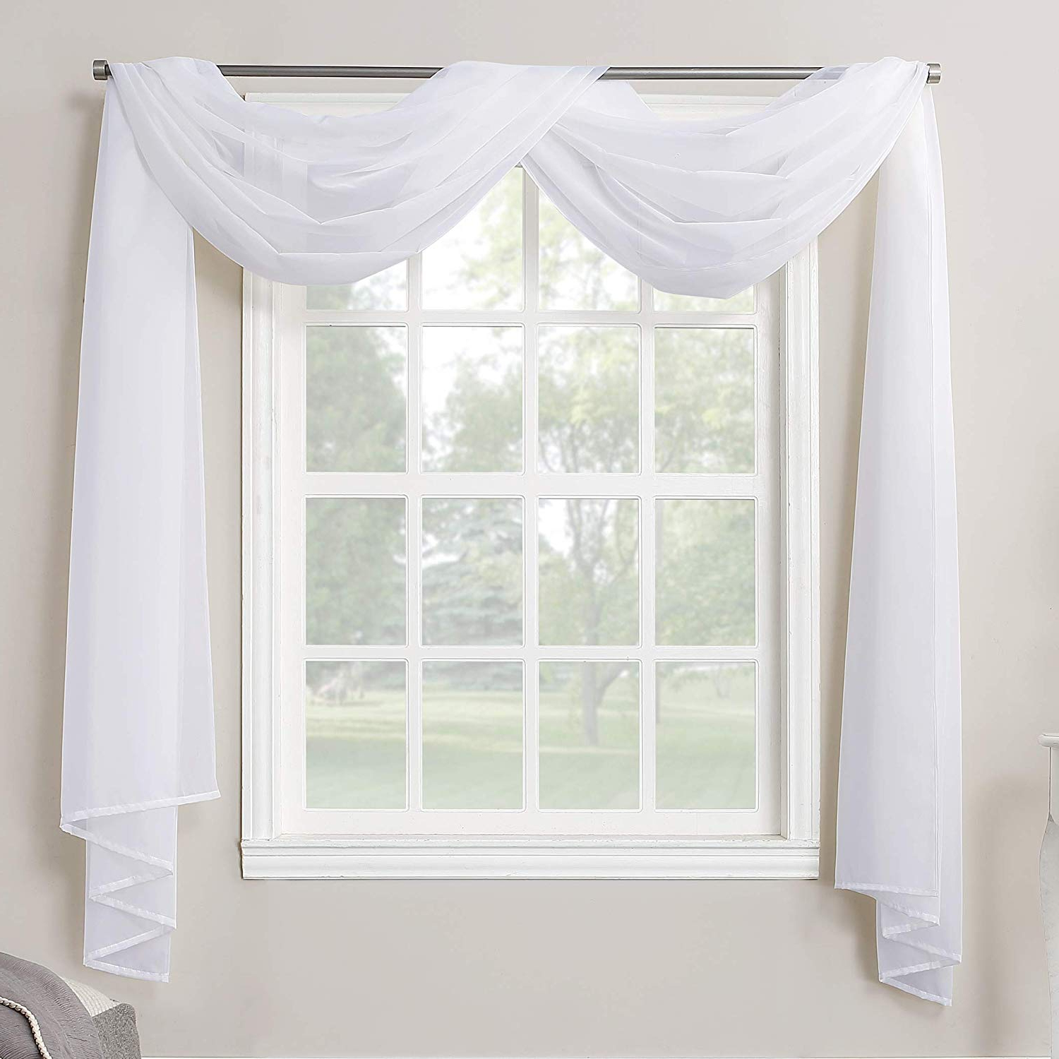 Widely Used Emily Sheer Voile Single Curtain Panels With Regard To No (View 7 of 20)