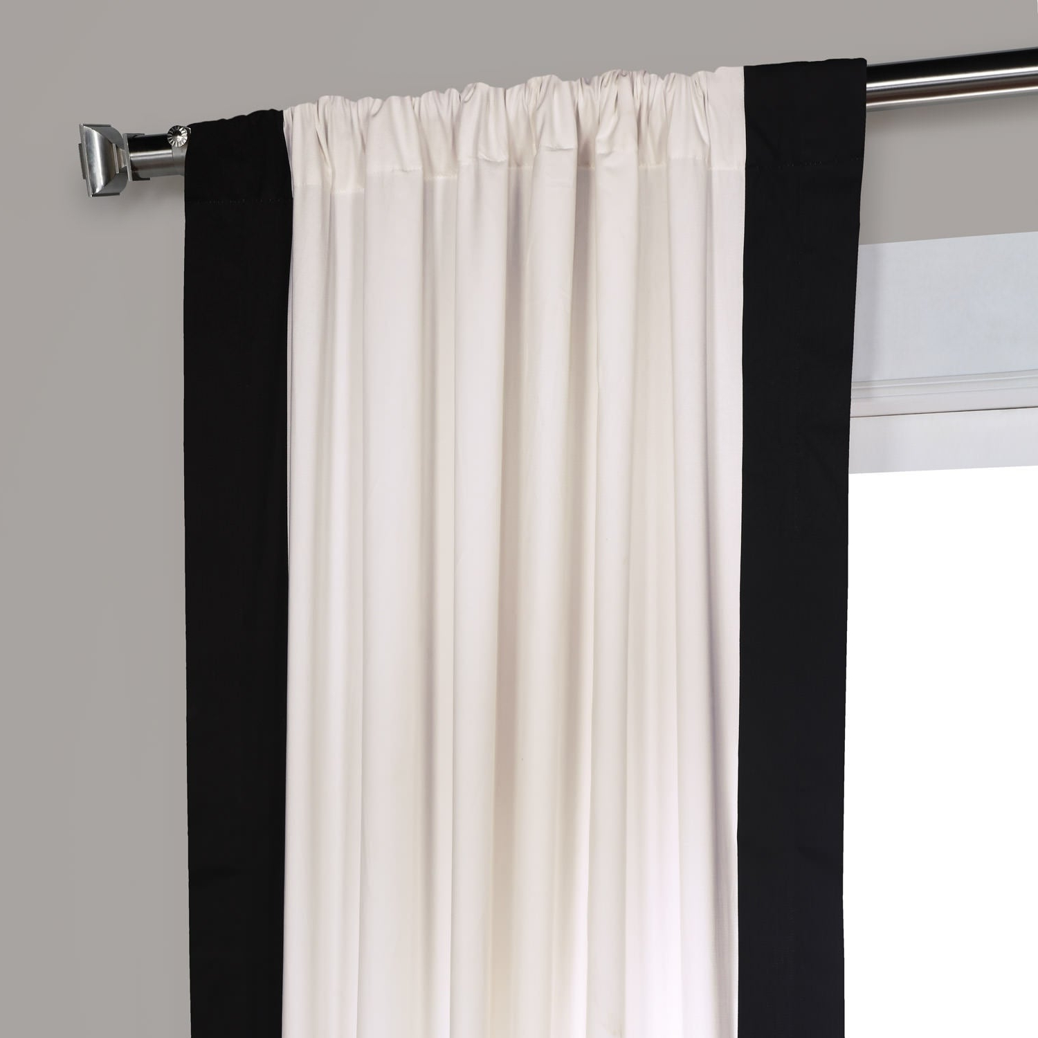 Widely Used Exclusive Fabrics Vertical Colorblock Panama Curtain Pertaining To Vertical Colorblock Panama Curtains (View 2 of 20)