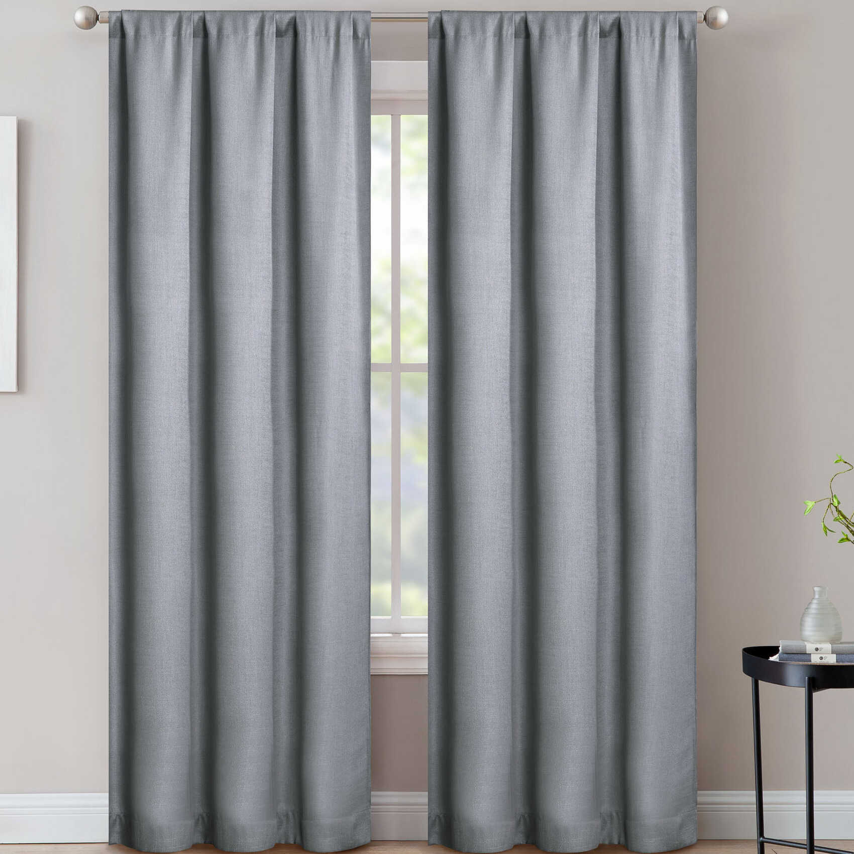 Widely Used Luxury Collection Cranston Sheer Curtain Panel Pairs Within Alexina Solid Color Room Darkening Rod Pocket Curtain Panels (View 17 of 20)