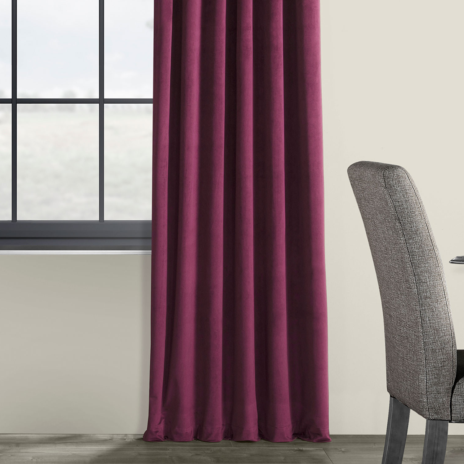 Widely Used Signature Blackout Velvet Curtains With Details About Signature Blackout Velvet Curtains (Sold Per Panel) (View 20 of 20)
