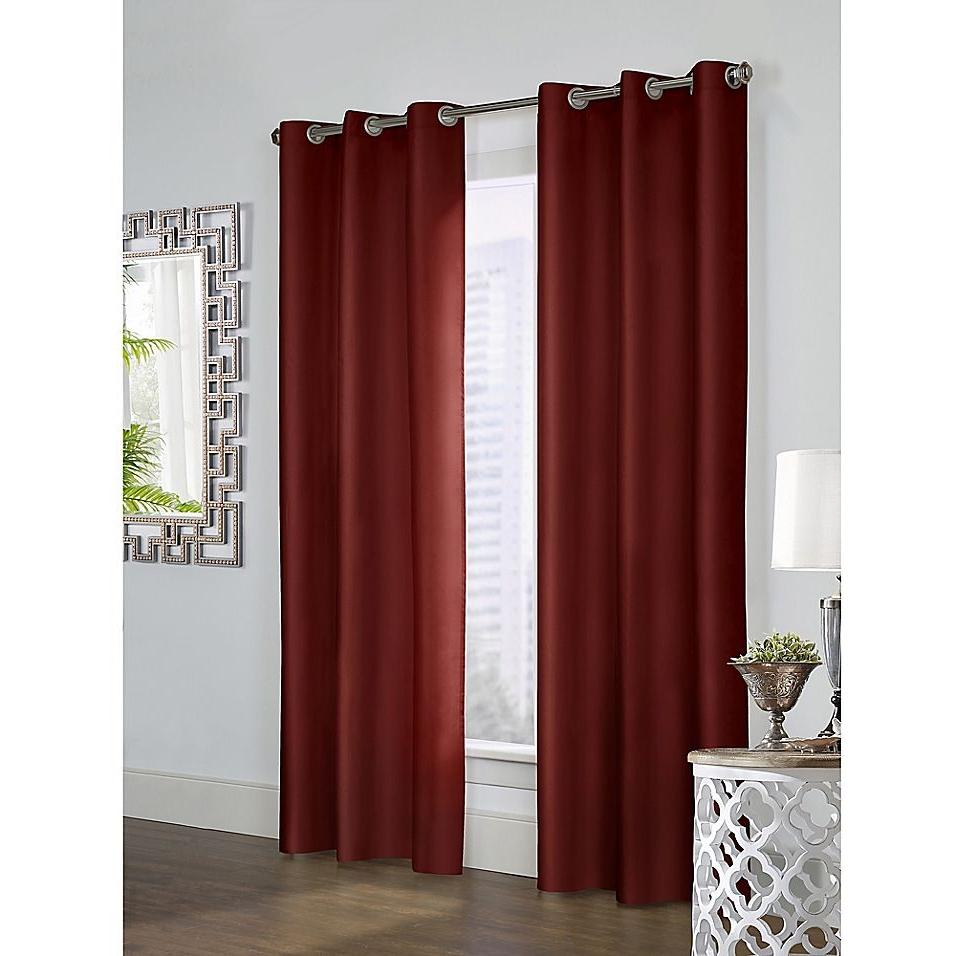 "Widely Used Thermalogic Prescott 84"" Grommet Window Curtain Panel Pair With Nantahala Rod Pocket Room Darkening Patio Door Single Curtain Panels (View 20 of 20)"