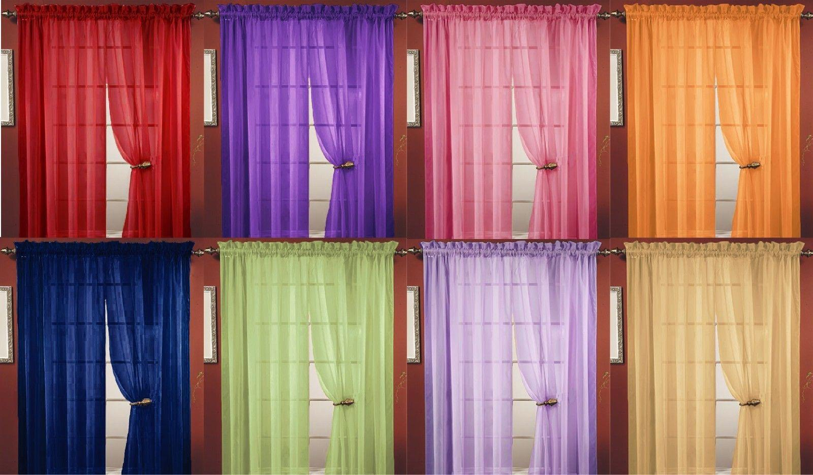 Widely Used Vina Sheer Bird Single Curtain Panels Intended For Window Panel Window Curtains (View 20 of 20)