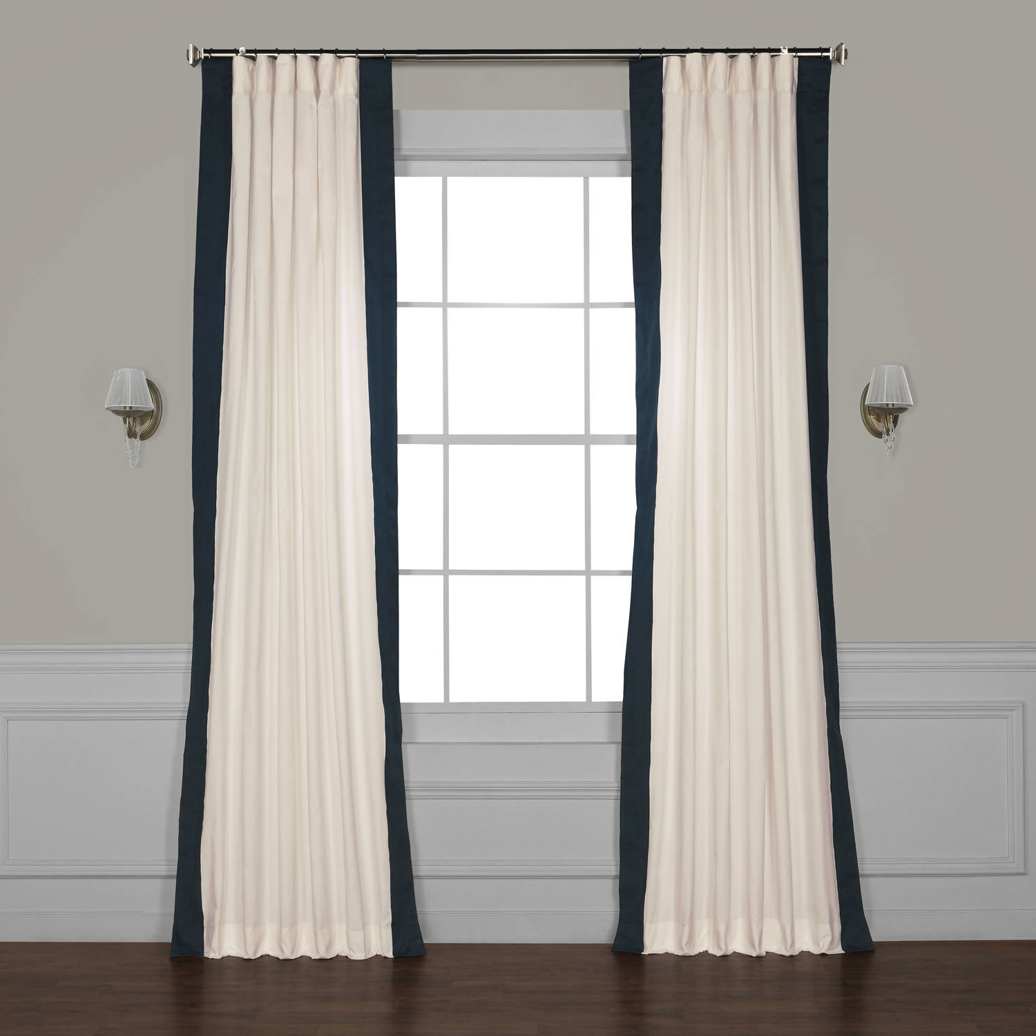 Winsor Semi Sheer Rod Pocket Single Curtain Panel Intended For Trendy Cyrus Thermal Blackout Back Tab Curtain Panels (View 19 of 20)
