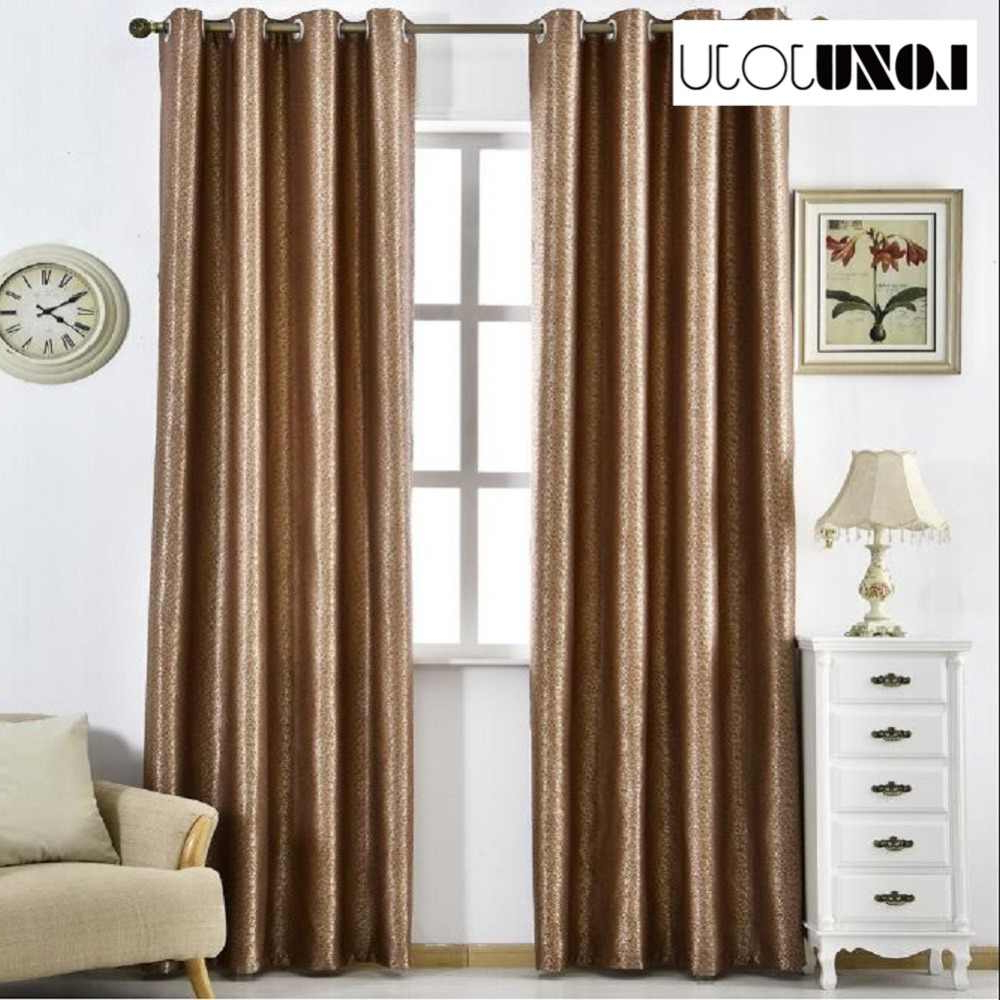 1 Piece Living Blackout Blue Style Color Solid Drape Made Regarding Fashionable Ivory Micro Striped Semi Sheer Window Curtain Pieces (View 9 of 20)