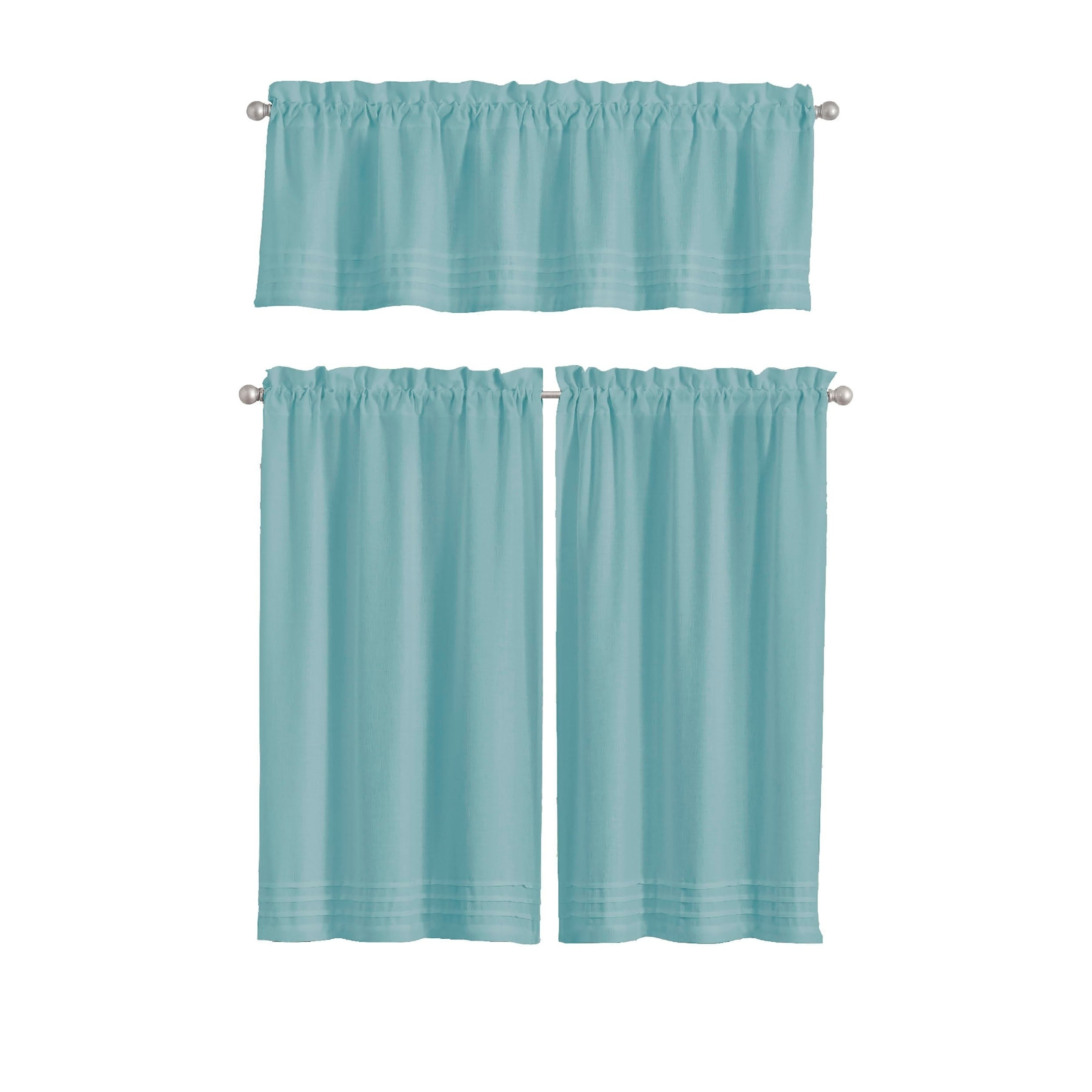 2020 Vue Window Solutions Kingsbury Pleated Tier Pair Inside Pleated Curtain Tiers (View 7 of 20)