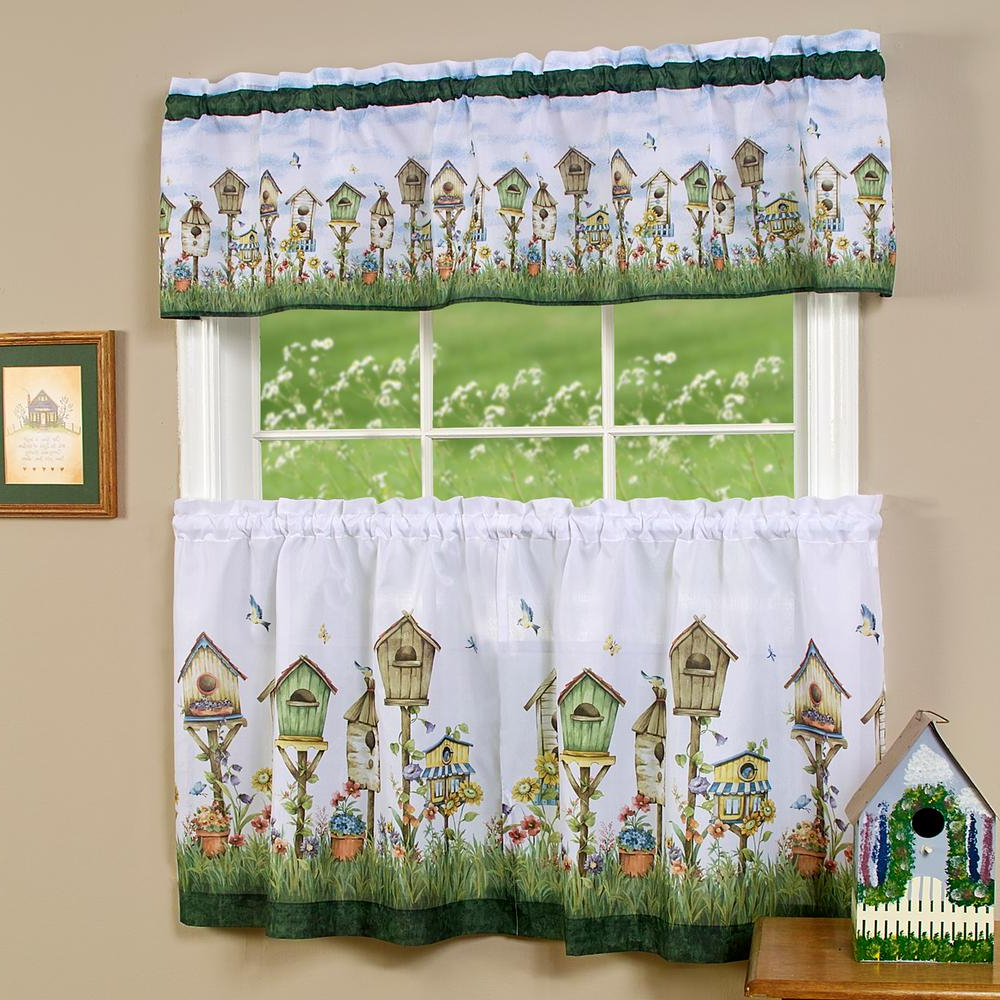 58 X 24 Achim Home Furnishings Lemon Drop Tier And Valance In Well Known Lemon Drop Tier And Valance Window Curtain Sets (View 9 of 20)